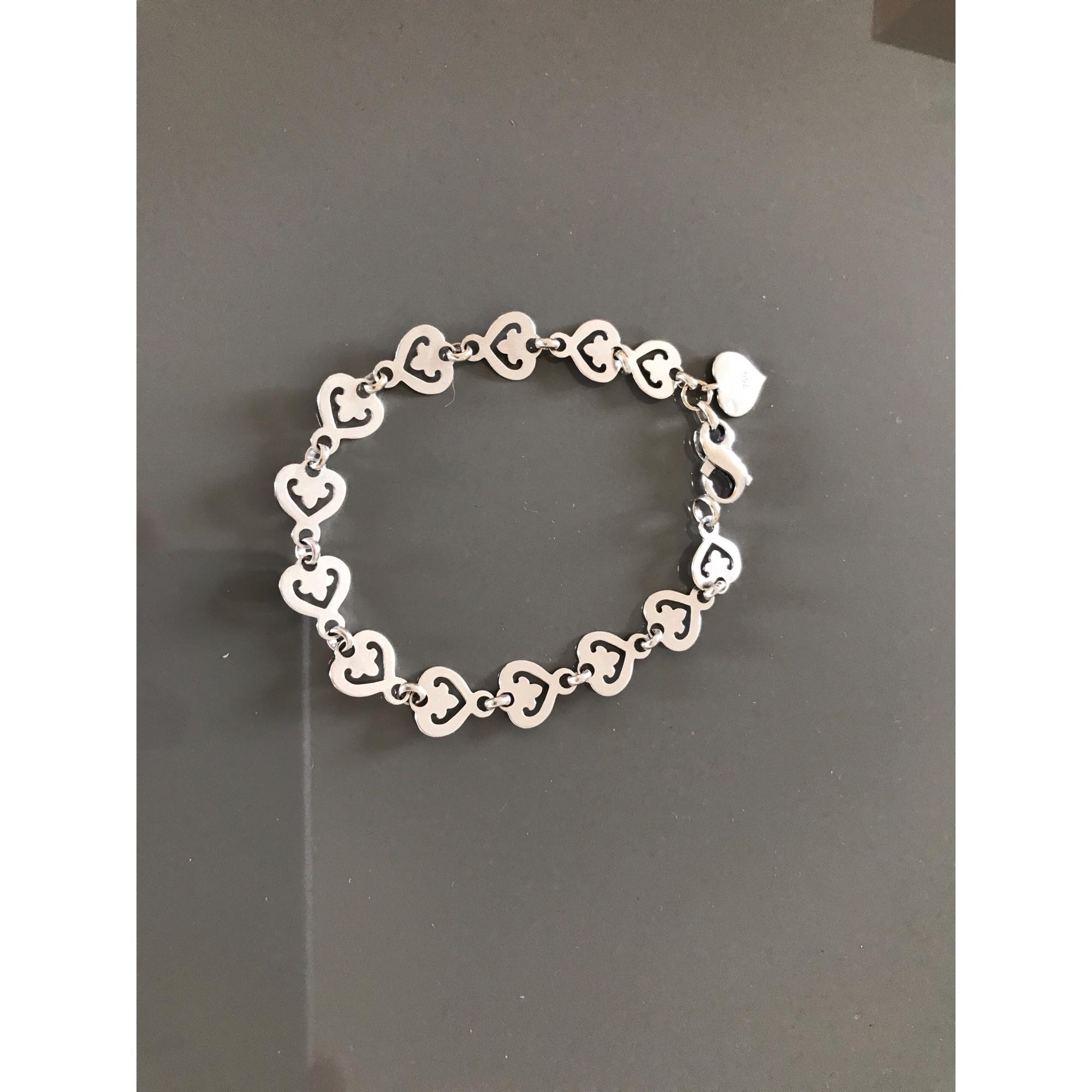Bracelet O.J PERRIN Argenté, acier