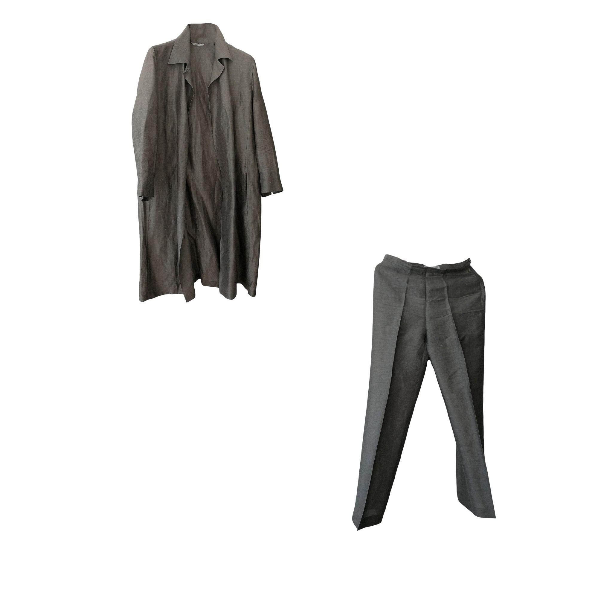 Tailleur pantalon MAX MARA Kaki
