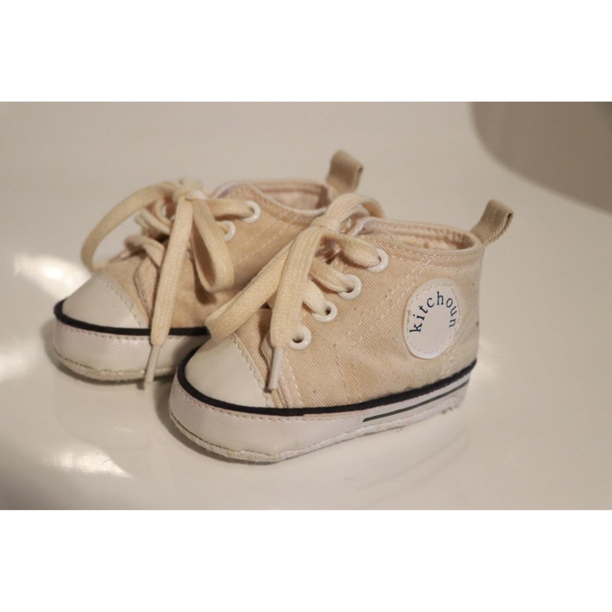 Chaussures à lacets KITCHOUN Beige, camel