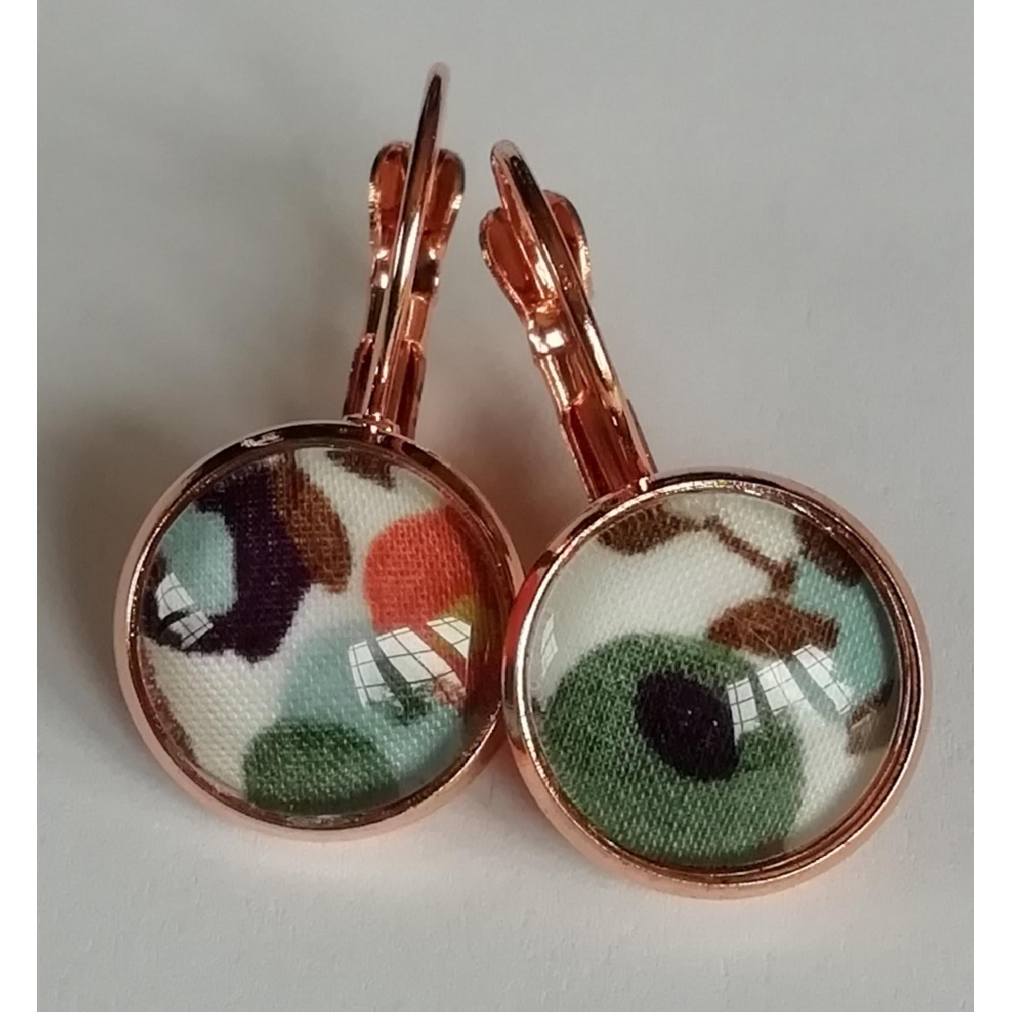Boucles d'oreille LIBERTY OF LONDON Vert