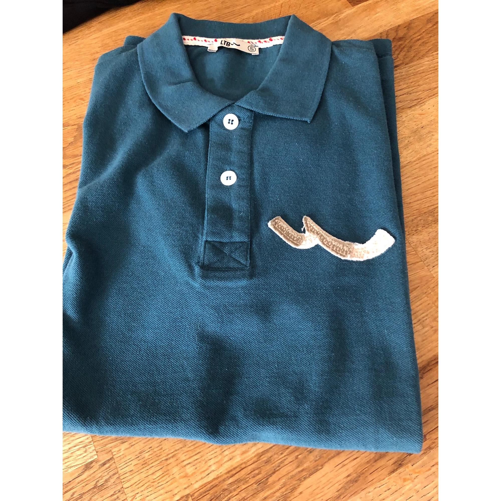 Polo LTB Bleu, bleu marine, bleu turquoise