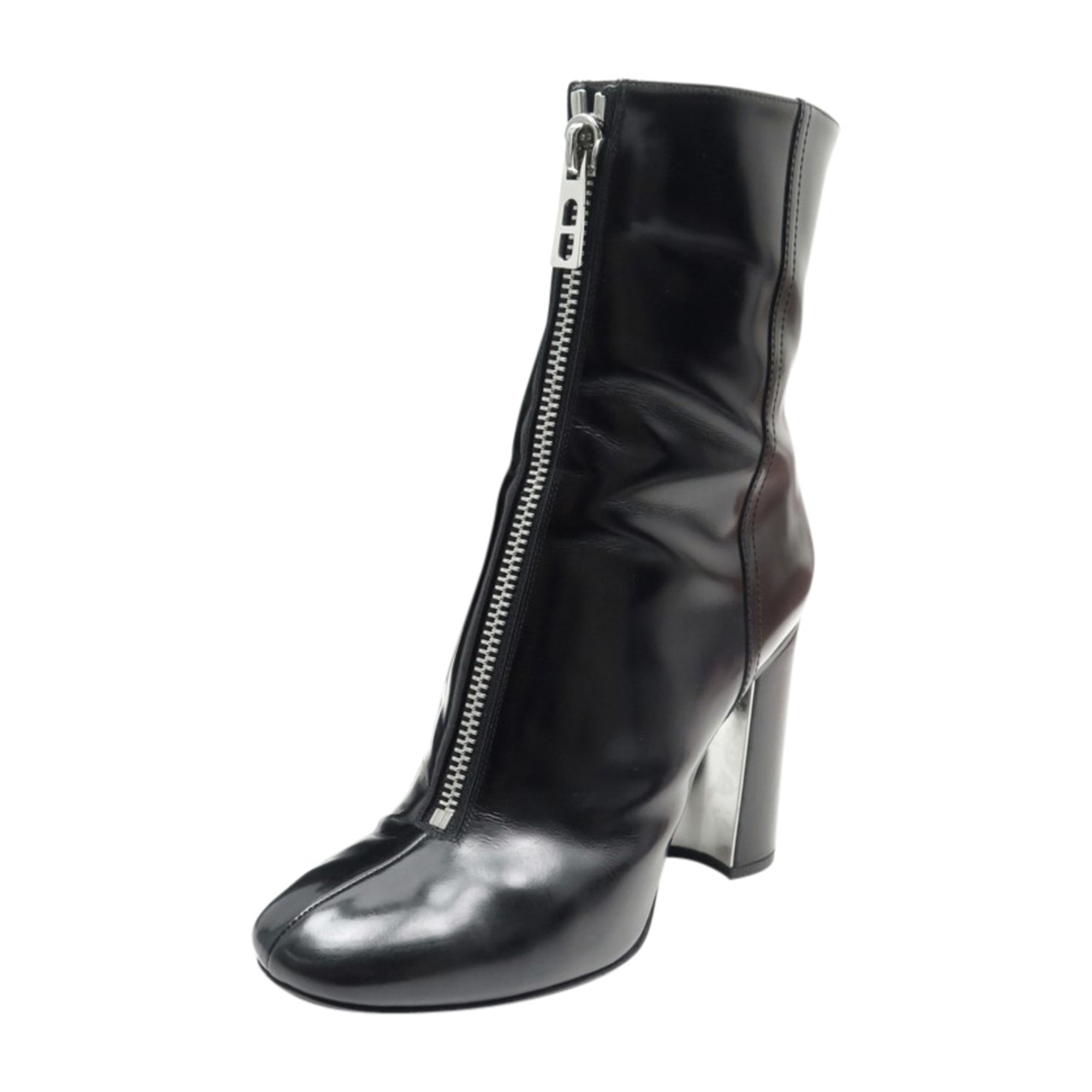 Bottines & low boots à talons HERMÈS Noir