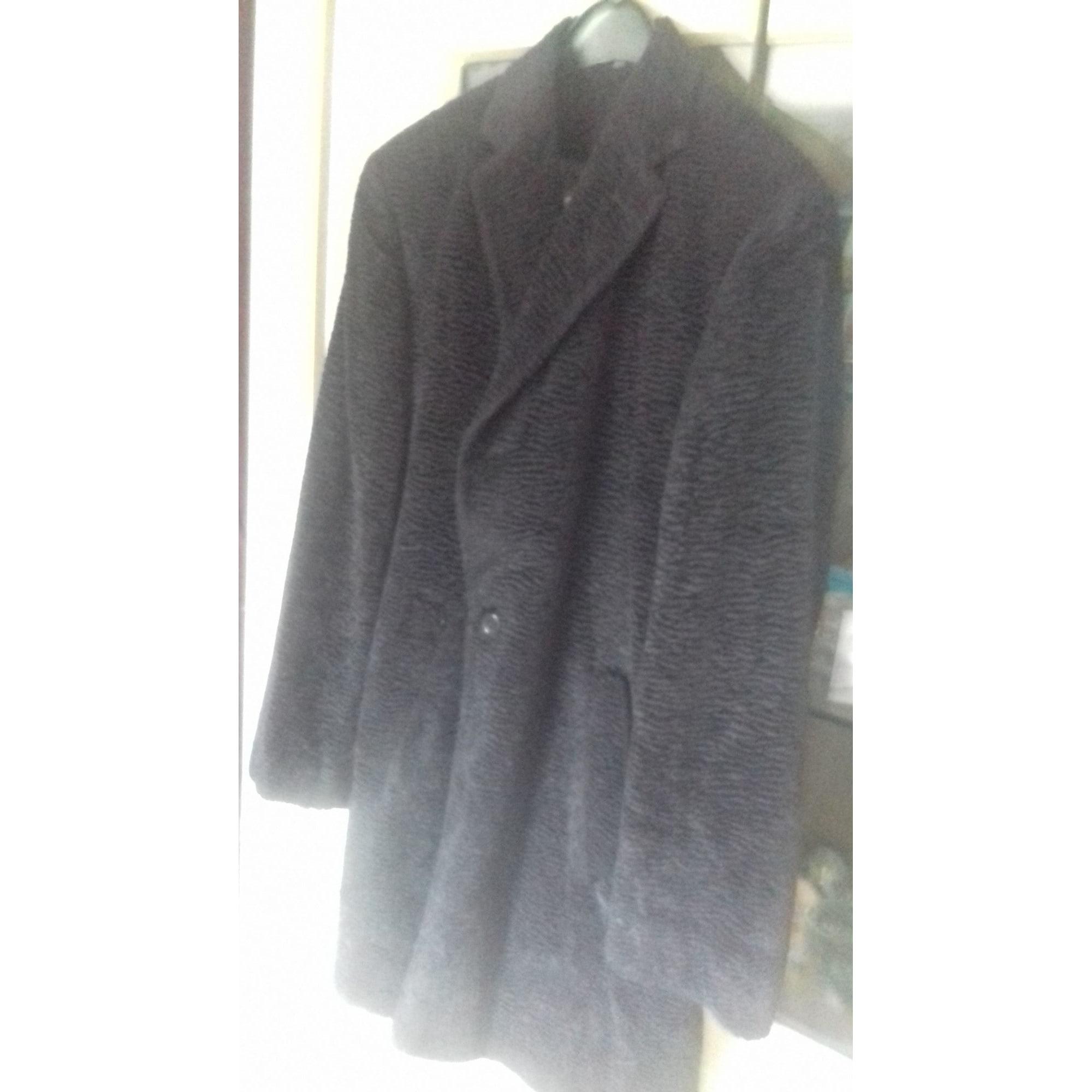 Manteau en fourrure JAN PAULSEN Noir