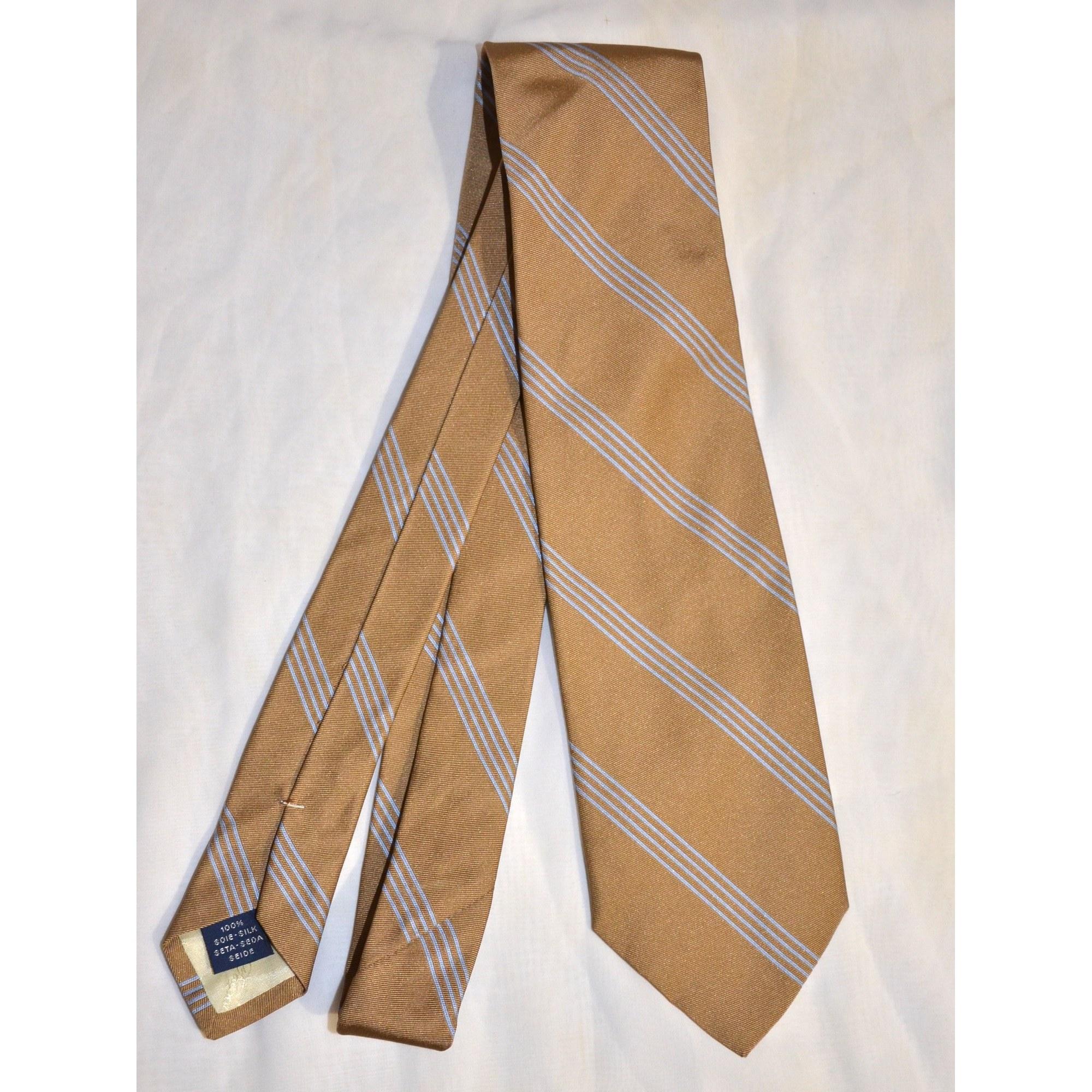 Cravate FAÇONNABLE Beige, camel