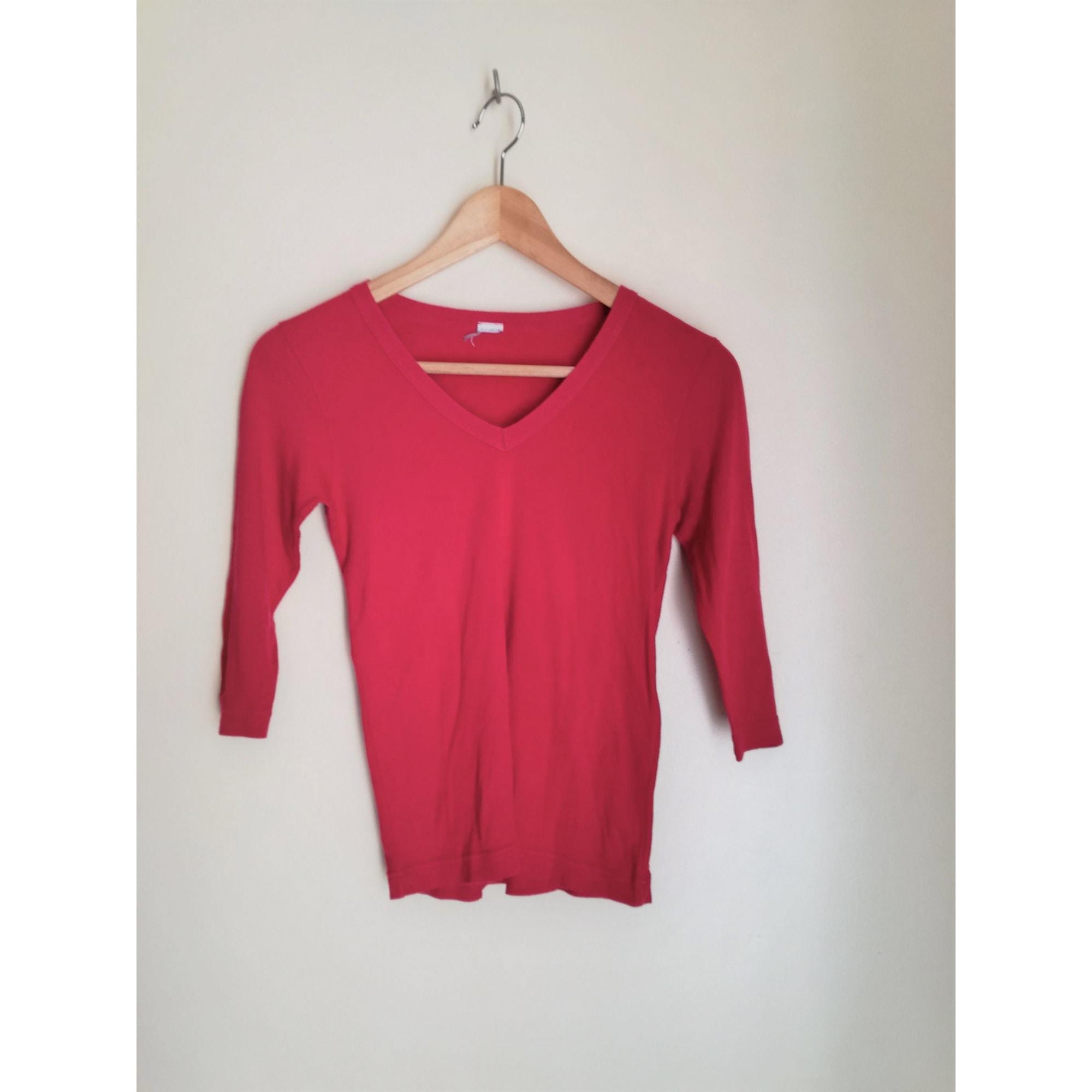 Top, Tee-shirt PETIT BATEAU Rose, fuschia, vieux rose