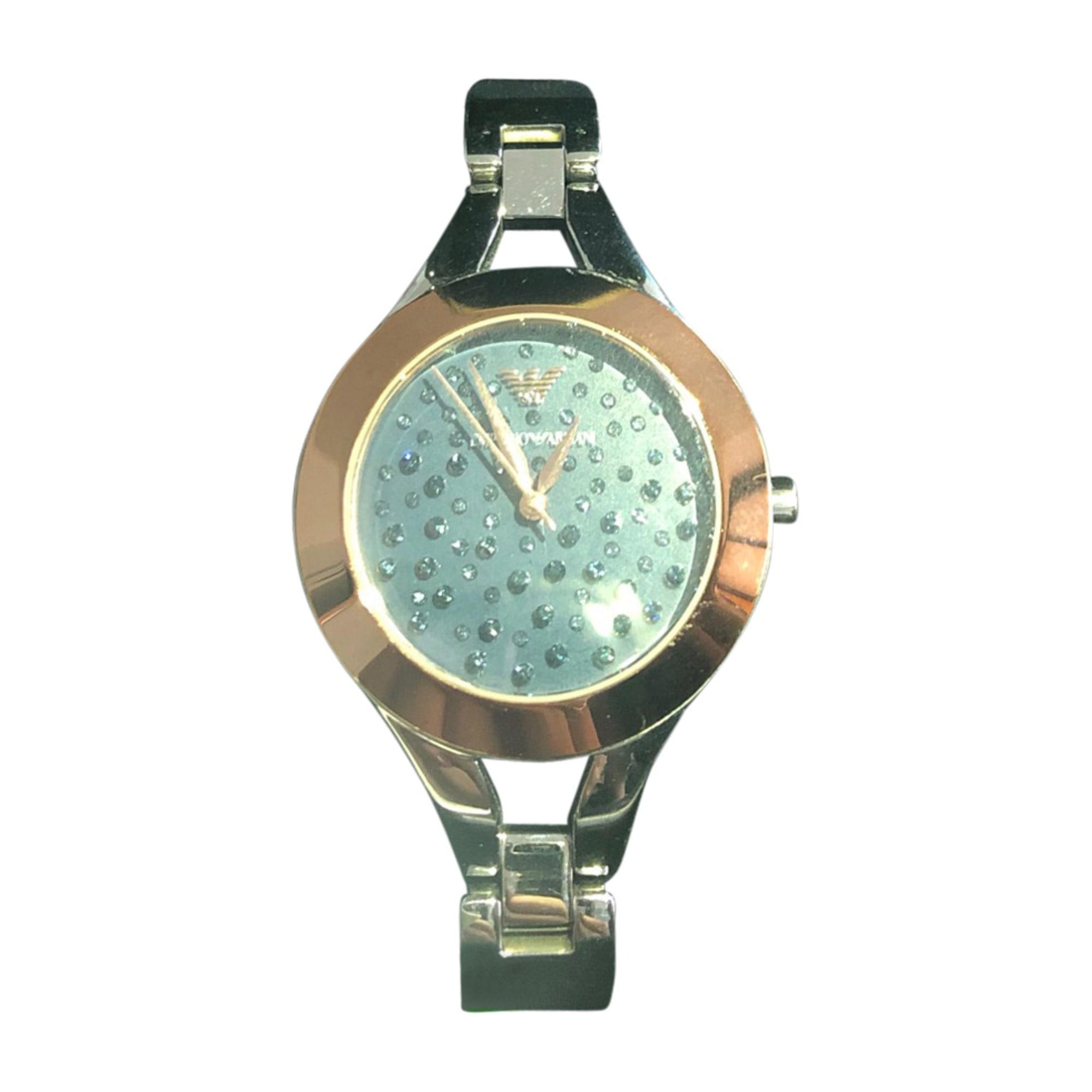 Montre au poignet EMPORIO ARMANI Bleu, bleu marine, bleu turquoise