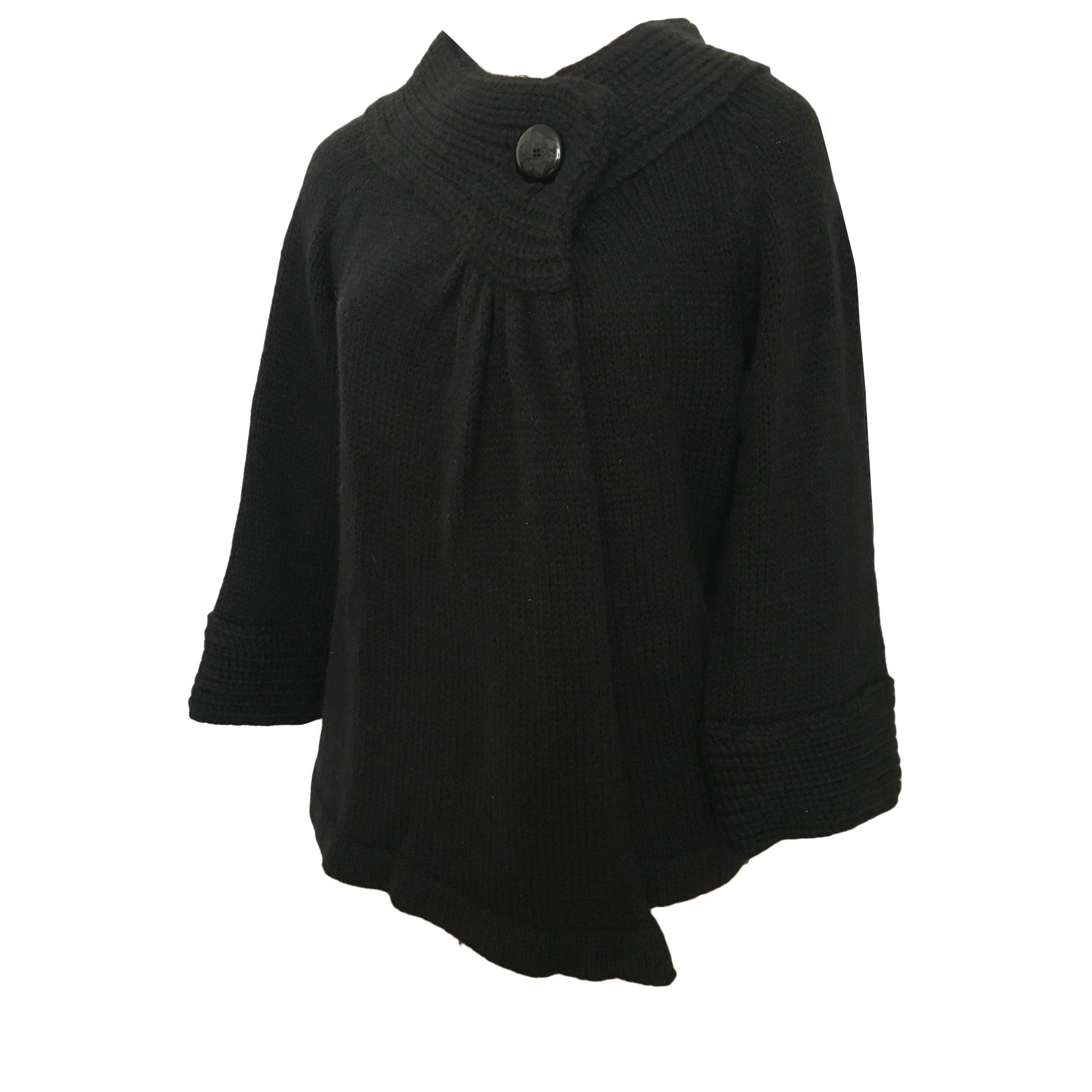 Gilet, cardigan DES PETITS HAUTS Noir