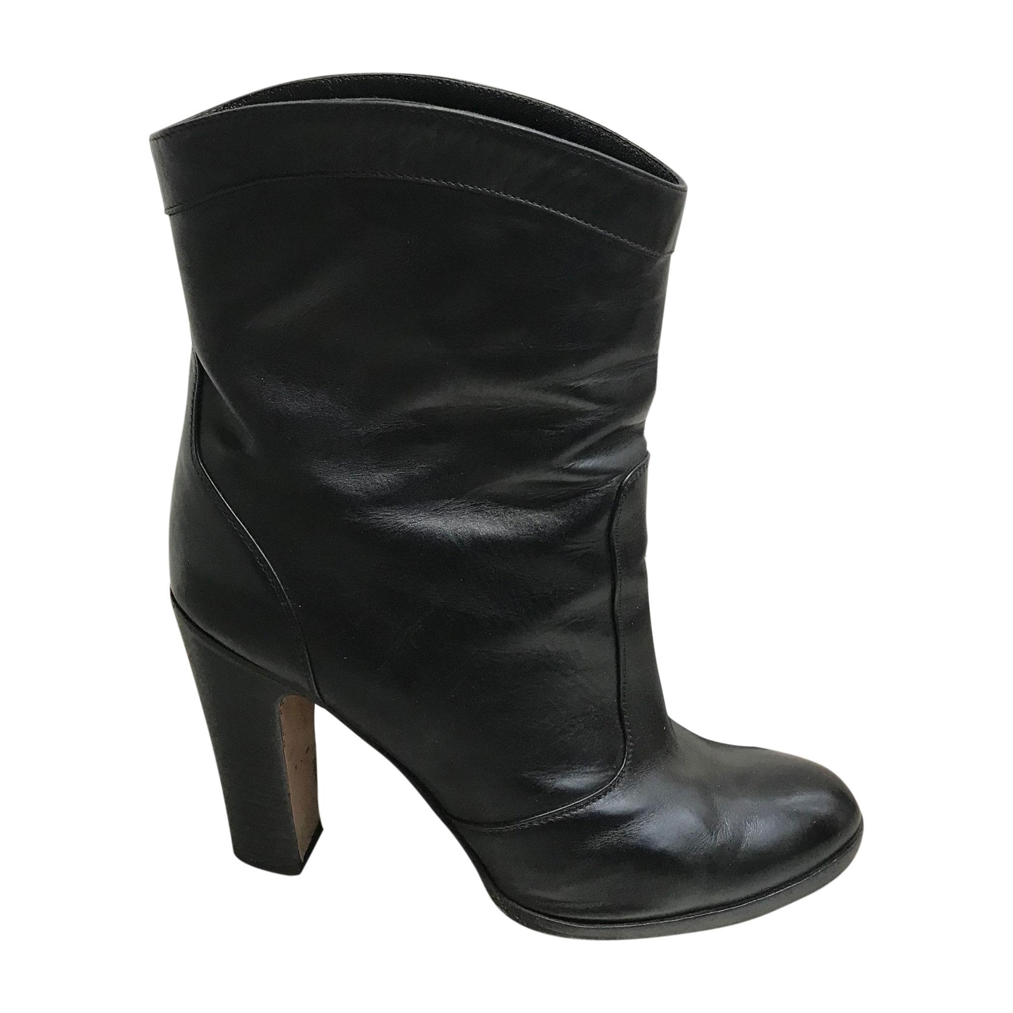 Bottines & low boots à talons GIANVITO ROSSI Noir