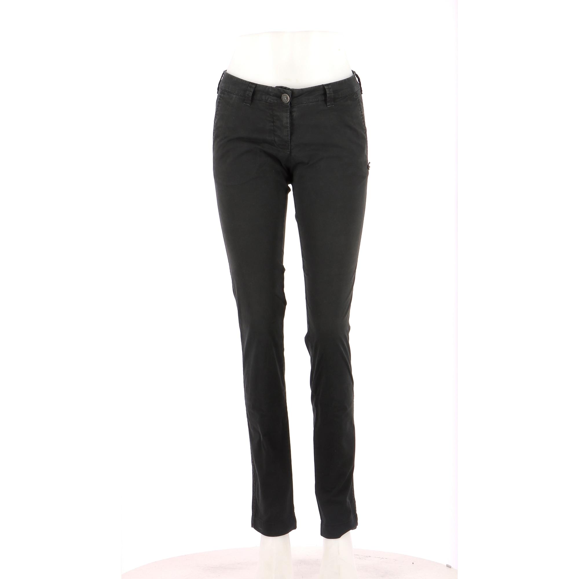 Jeans droit MAISON SCOTCH Noir