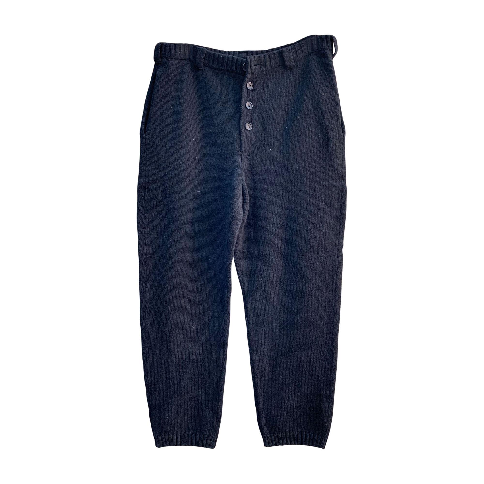 Pantalon large YOHJI YAMAMOTO Gris, anthracite