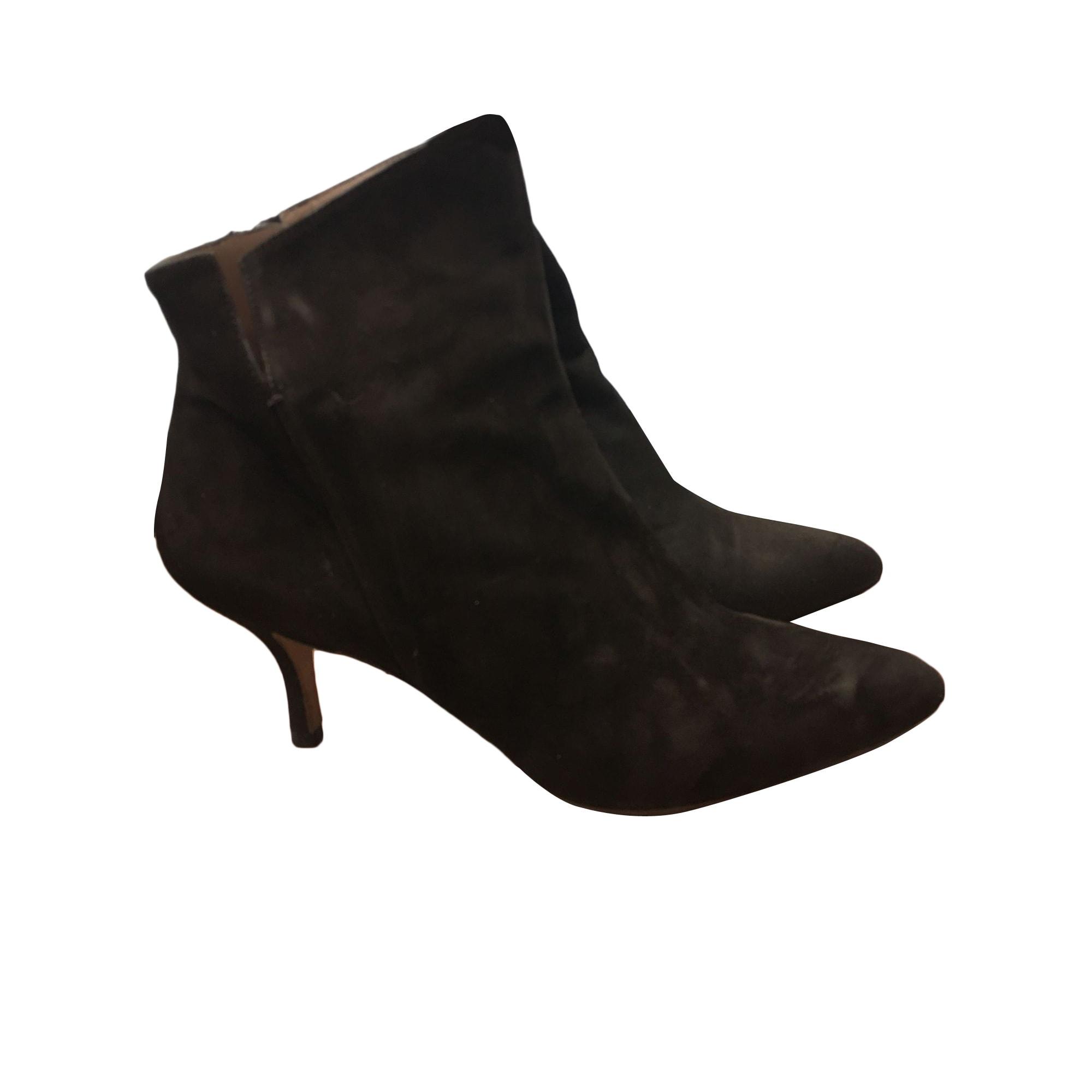 Bottines & low boots à talons PURA LOPEZ Marron