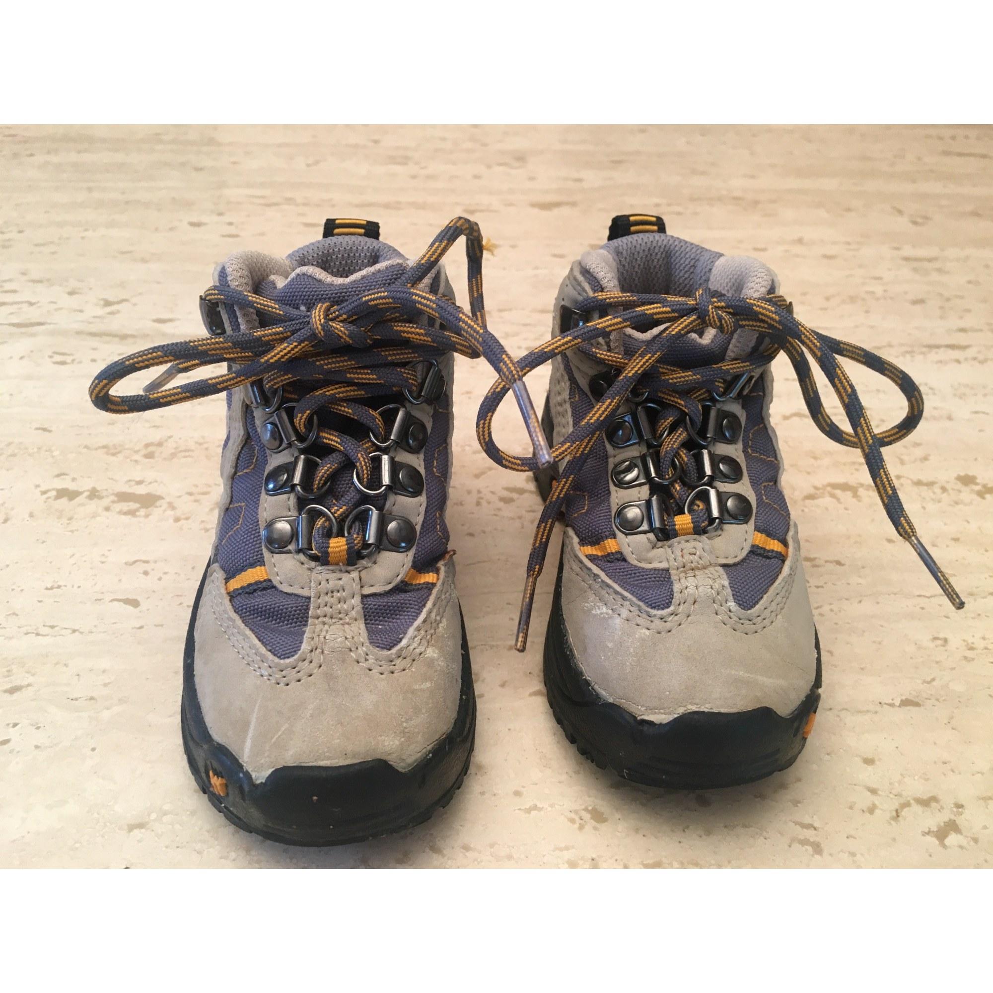 Chaussures à lacets QUECHUA Beige, camel