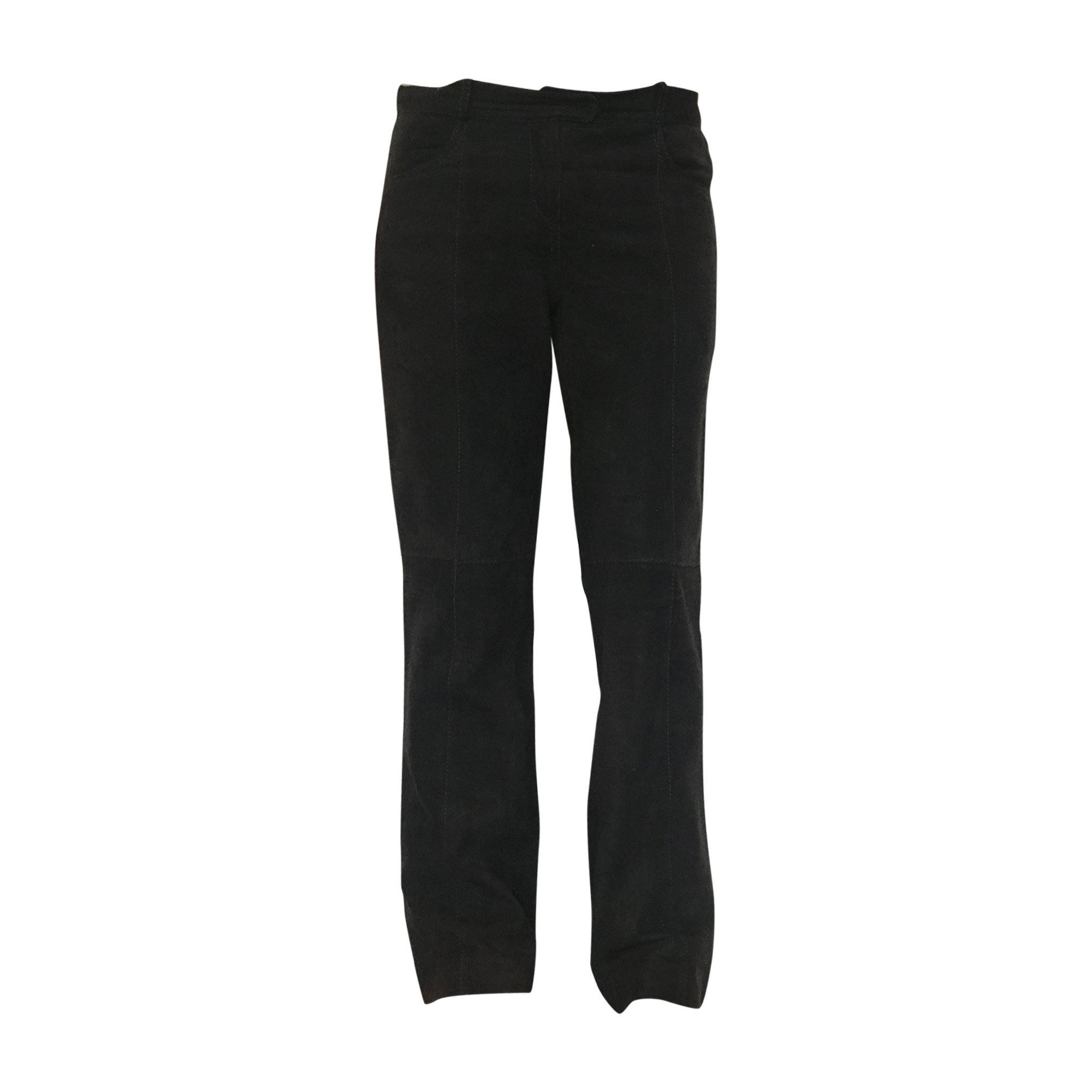 Pantalon droit GIVENCHY Marron