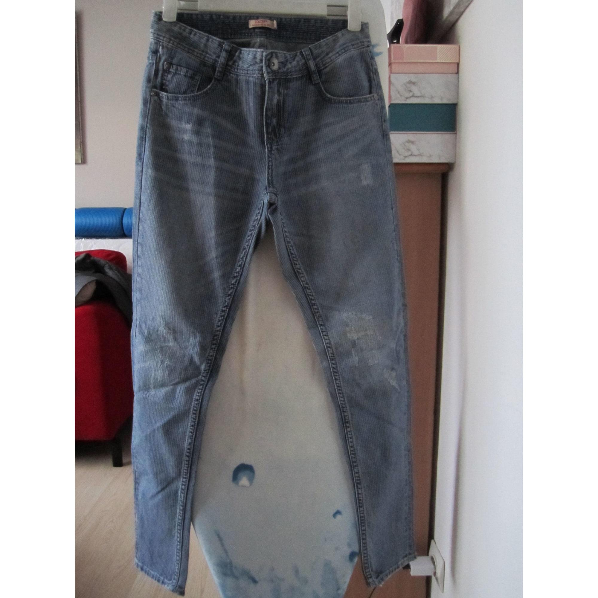 Jeans large, boyfriend DDP stone