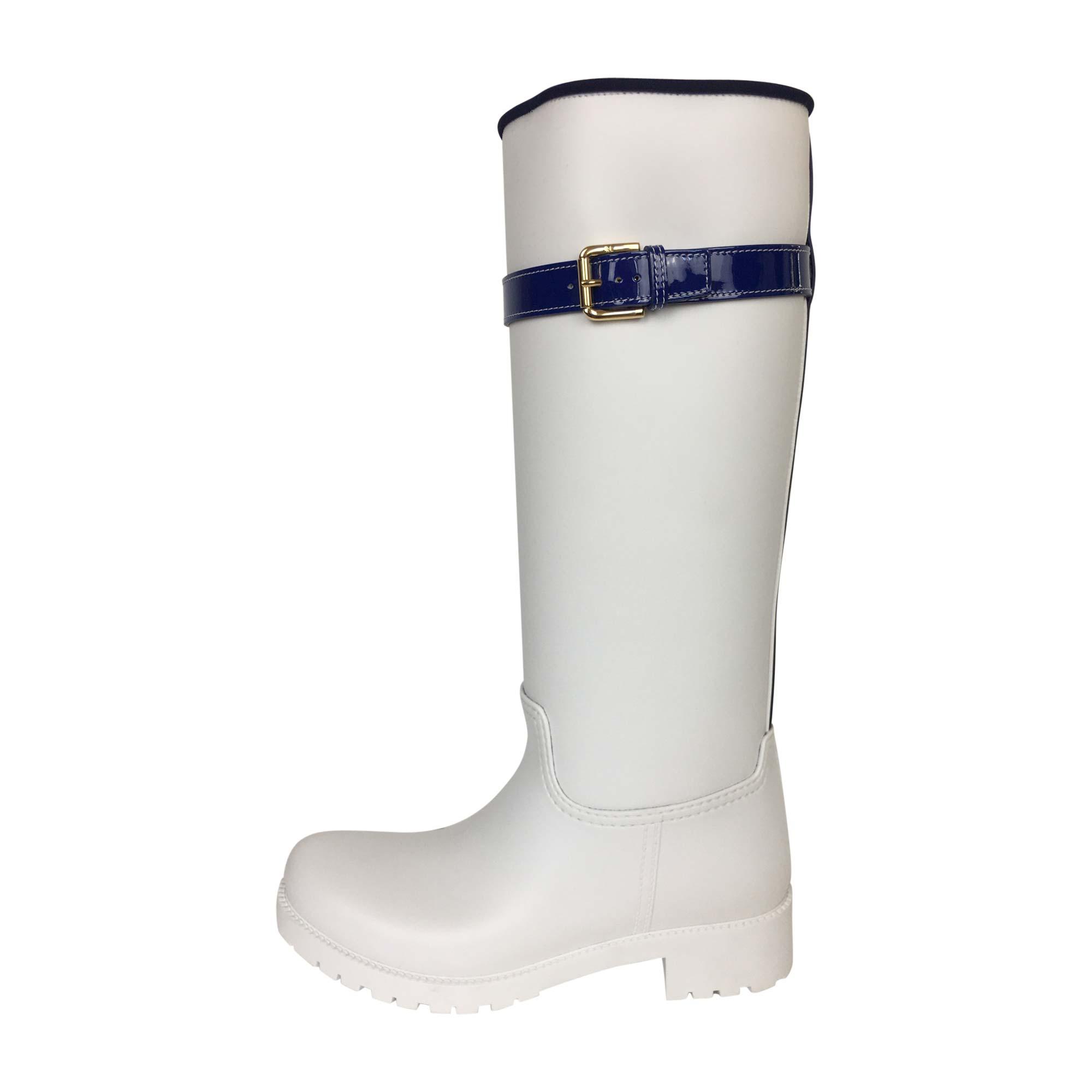 Bottes de pluie RALPH LAUREN Blanc, blanc cassé, écru