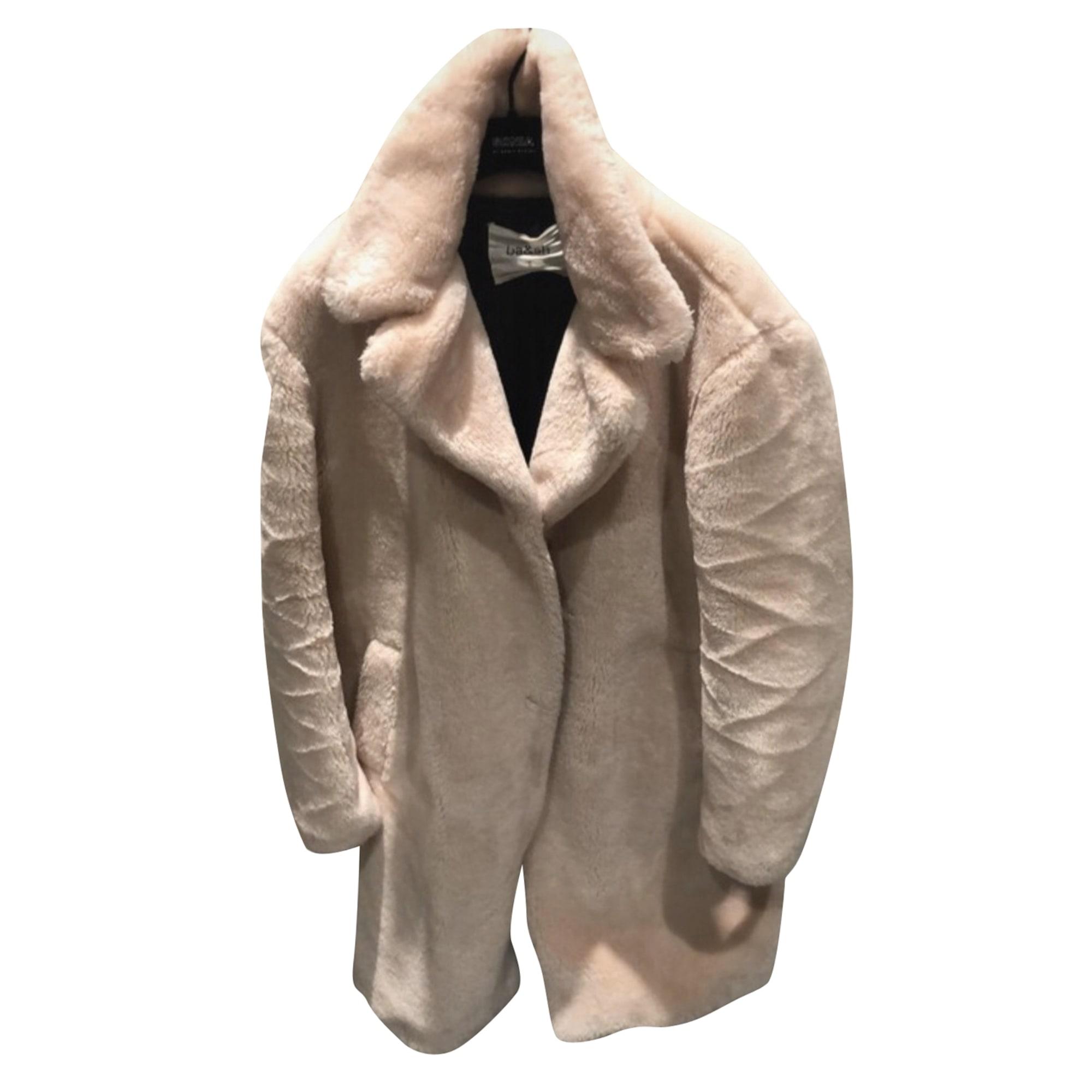 Manteau BA&SH Rose, fuschia, vieux rose