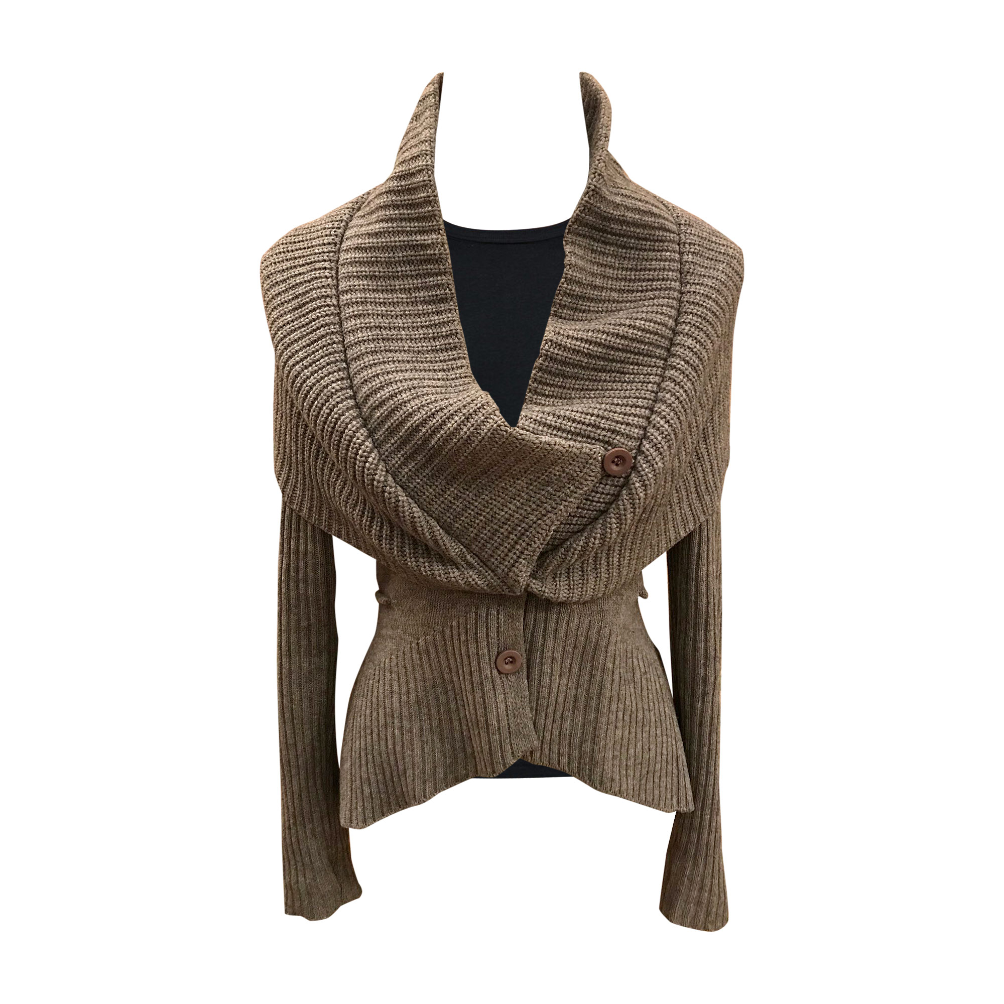 Gilet, cardigan GIVENCHY Gris, anthracite