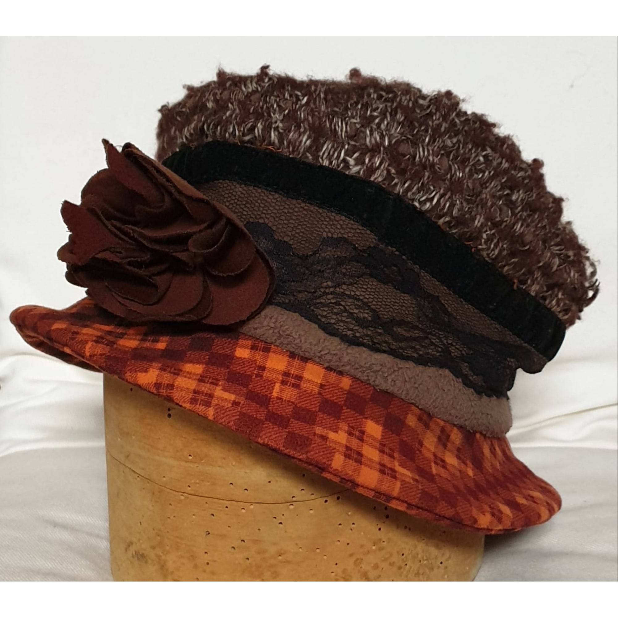 Chapeau KAETITIA ROSE Marron