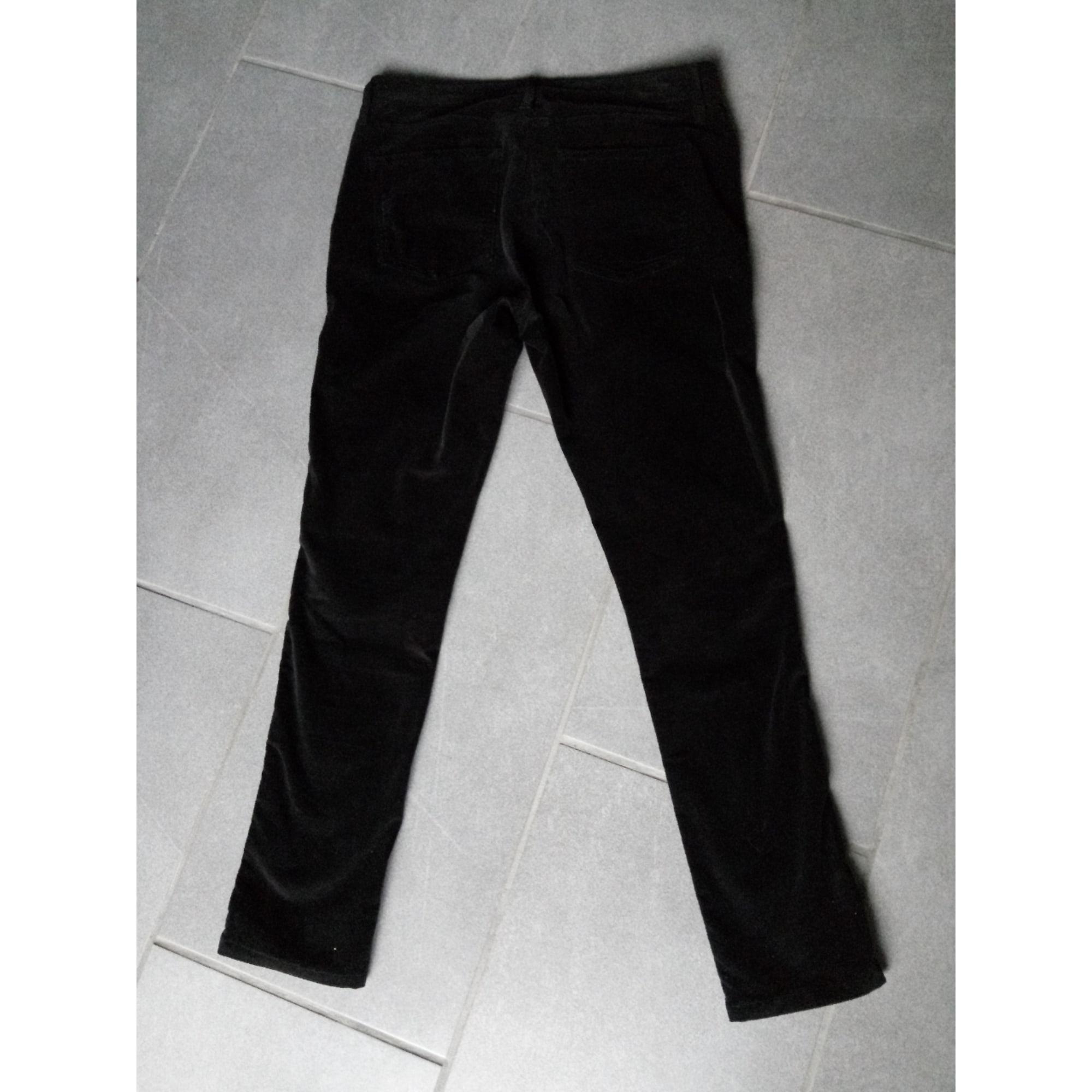 Jeans slim MARQUE INCONNUE Noir