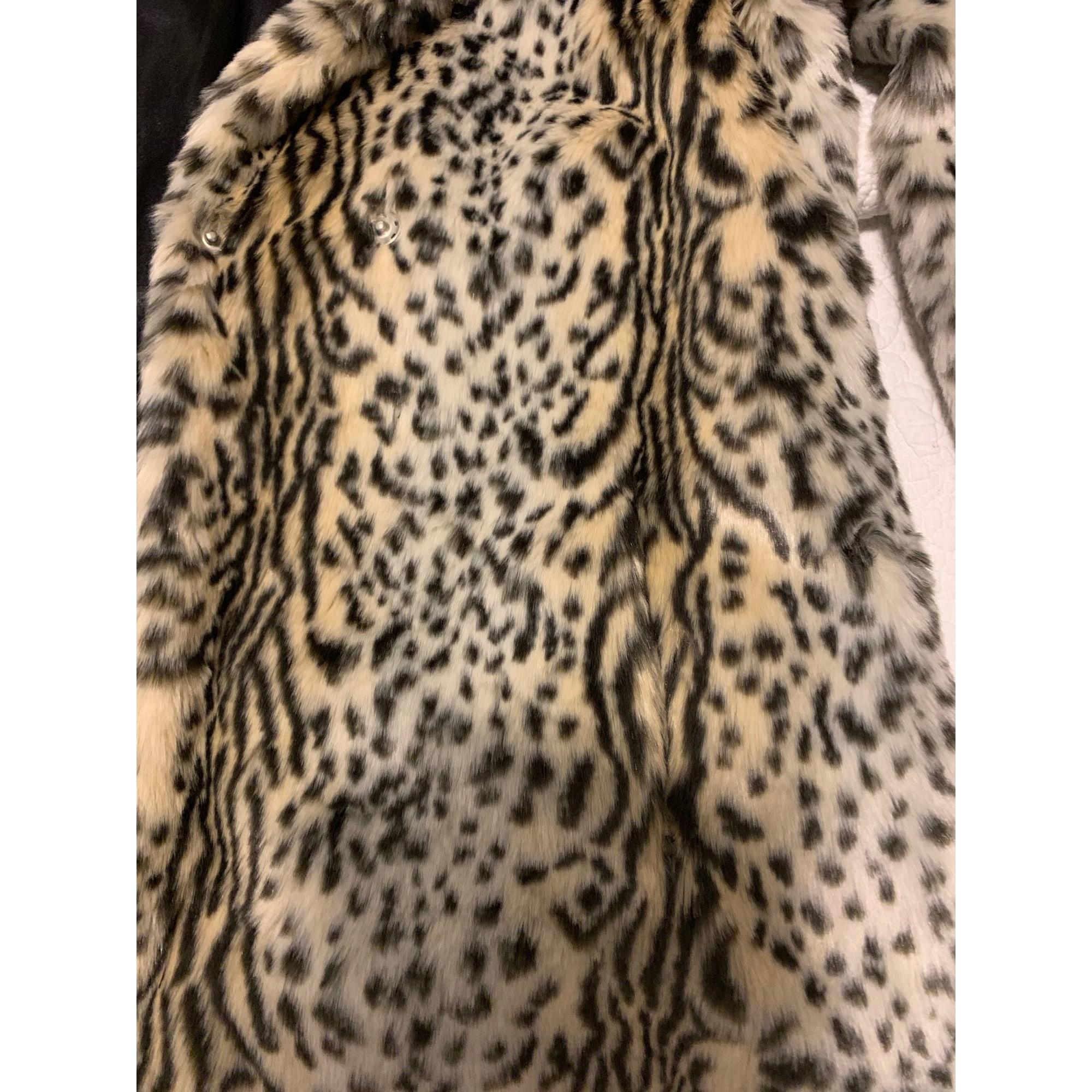 Manteau en fourrure NEW LOOK Imprimés animaliers