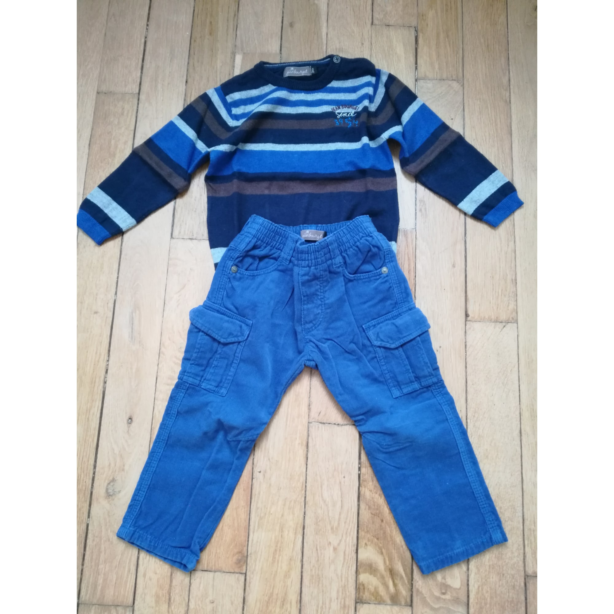 Ensemble & Combinaison pantalon JEAN BOURGET Bleu, bleu marine, bleu turquoise