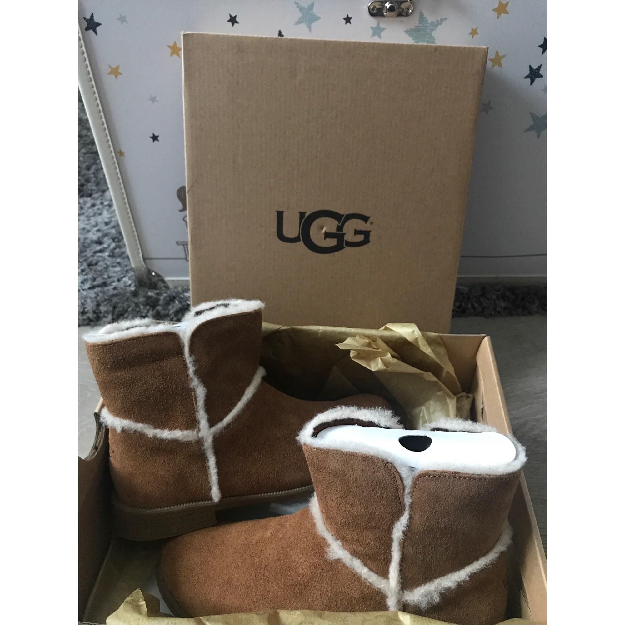 Bottines UGG Beige, camel