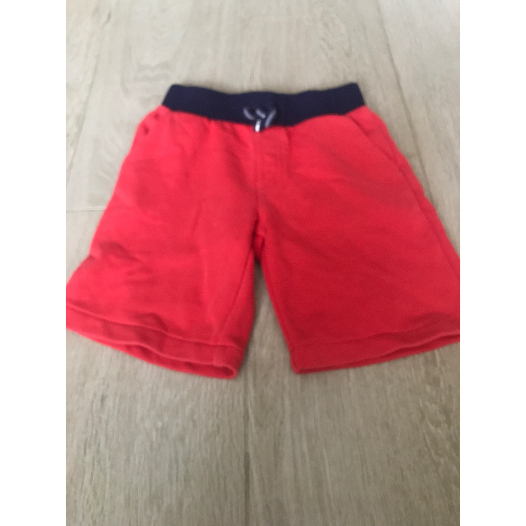 Short LACOSTE Rouge, bordeaux