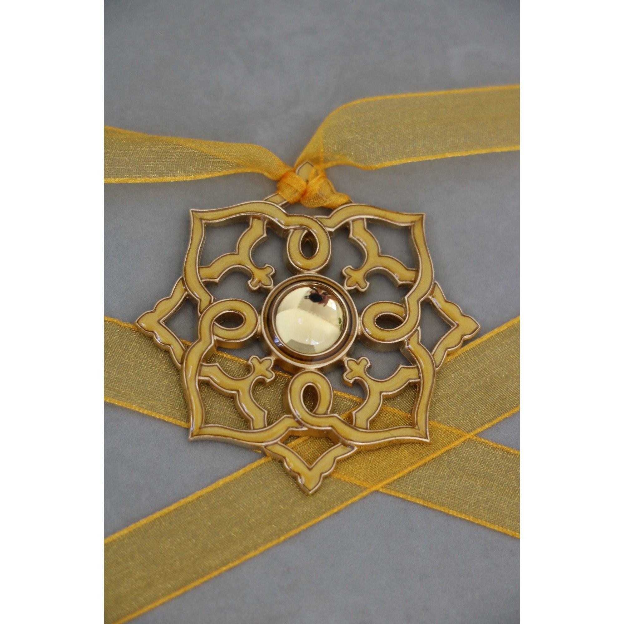 Pendentif, collier pendentif LALIQUE Jaune