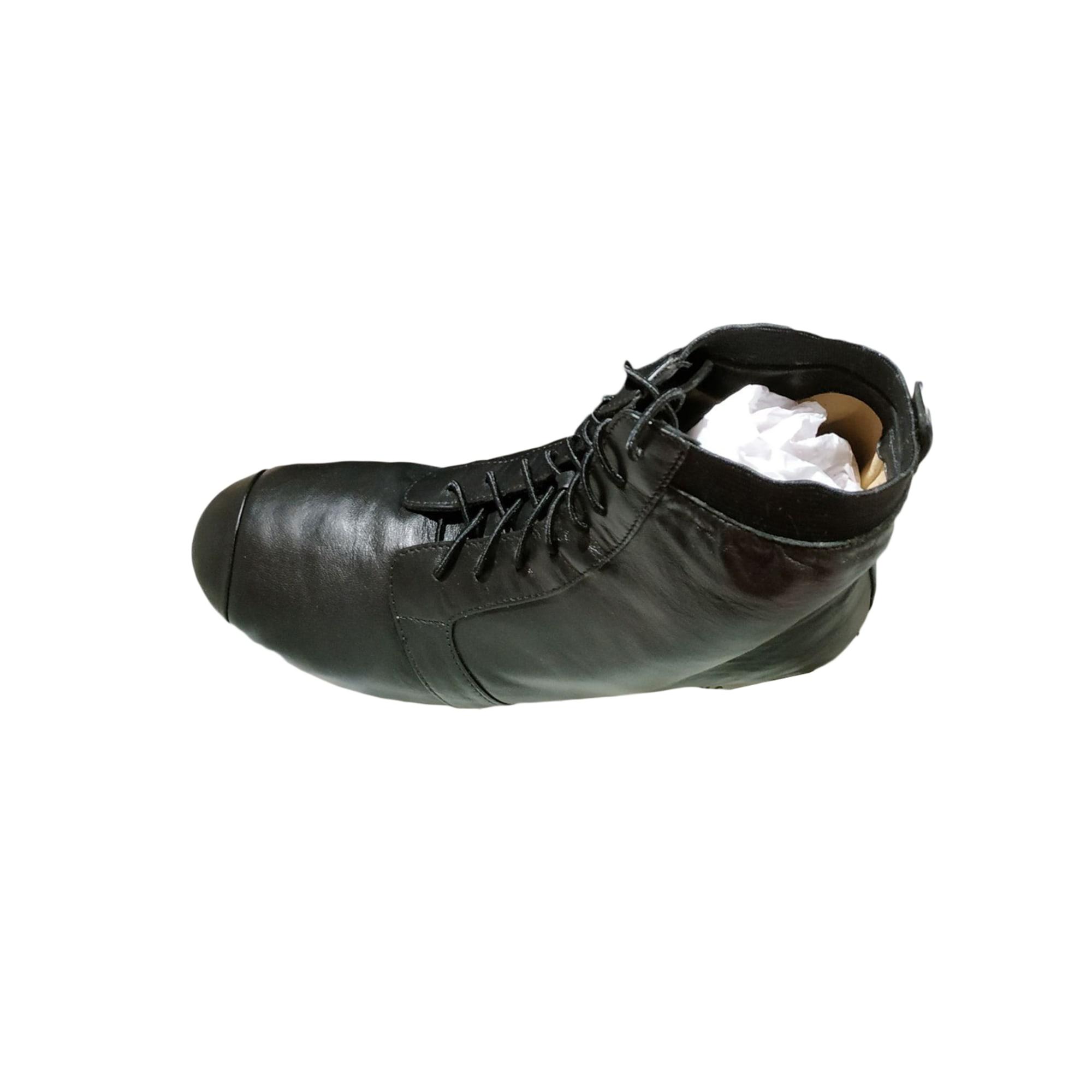 Bottines & low boots plates BLOCH Noir