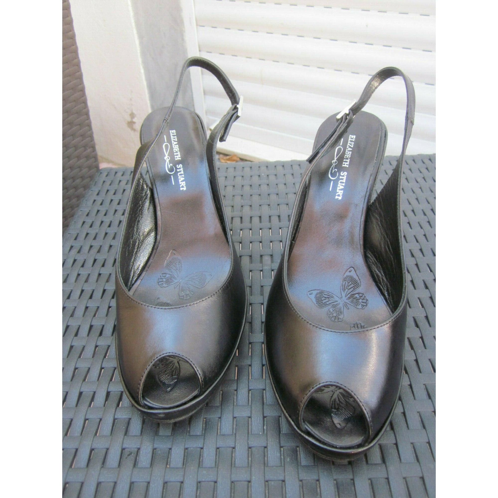 Sandales à talons ELIZABETH STUART Noir
