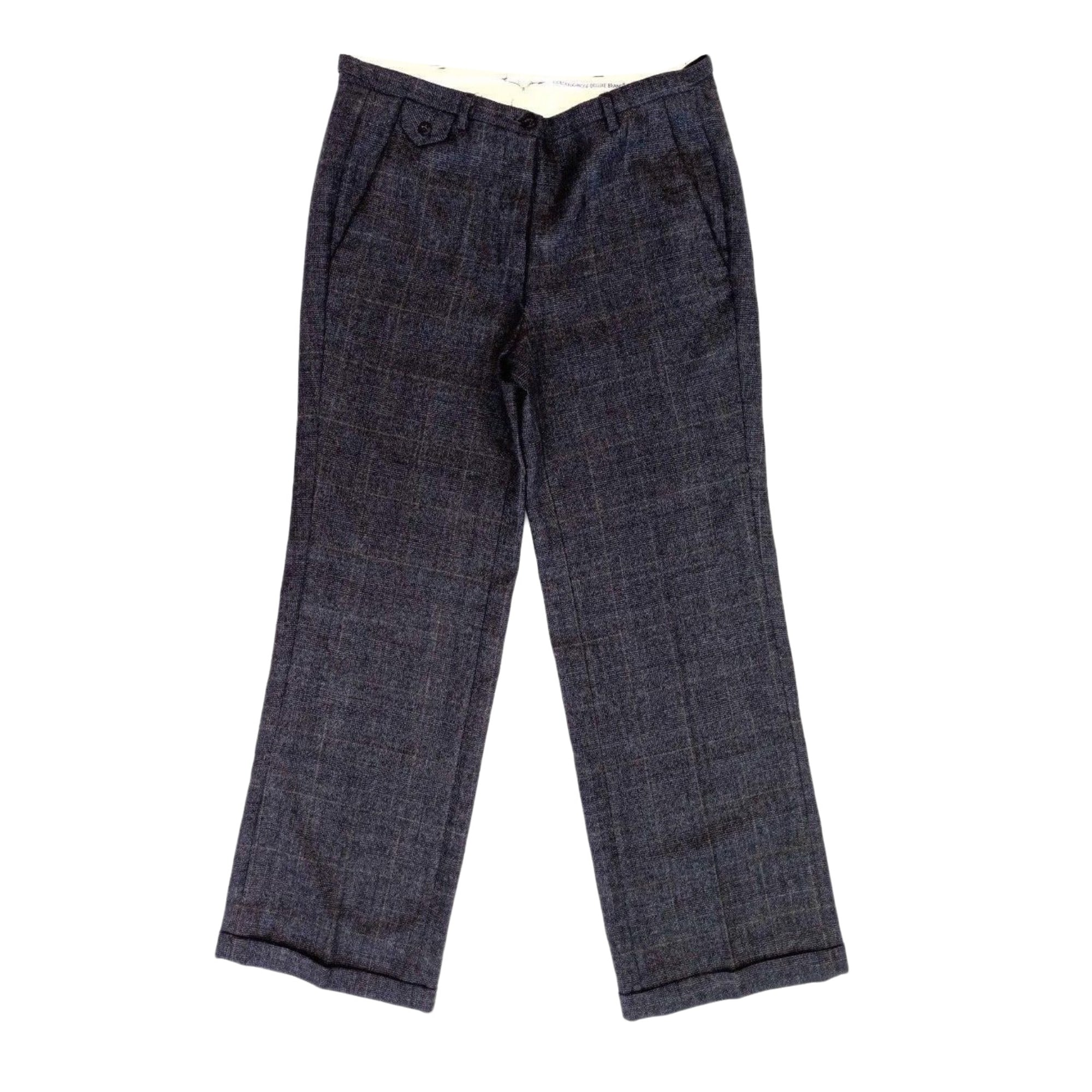 Pantalon droit GOLDEN GOOSE Gris, anthracite