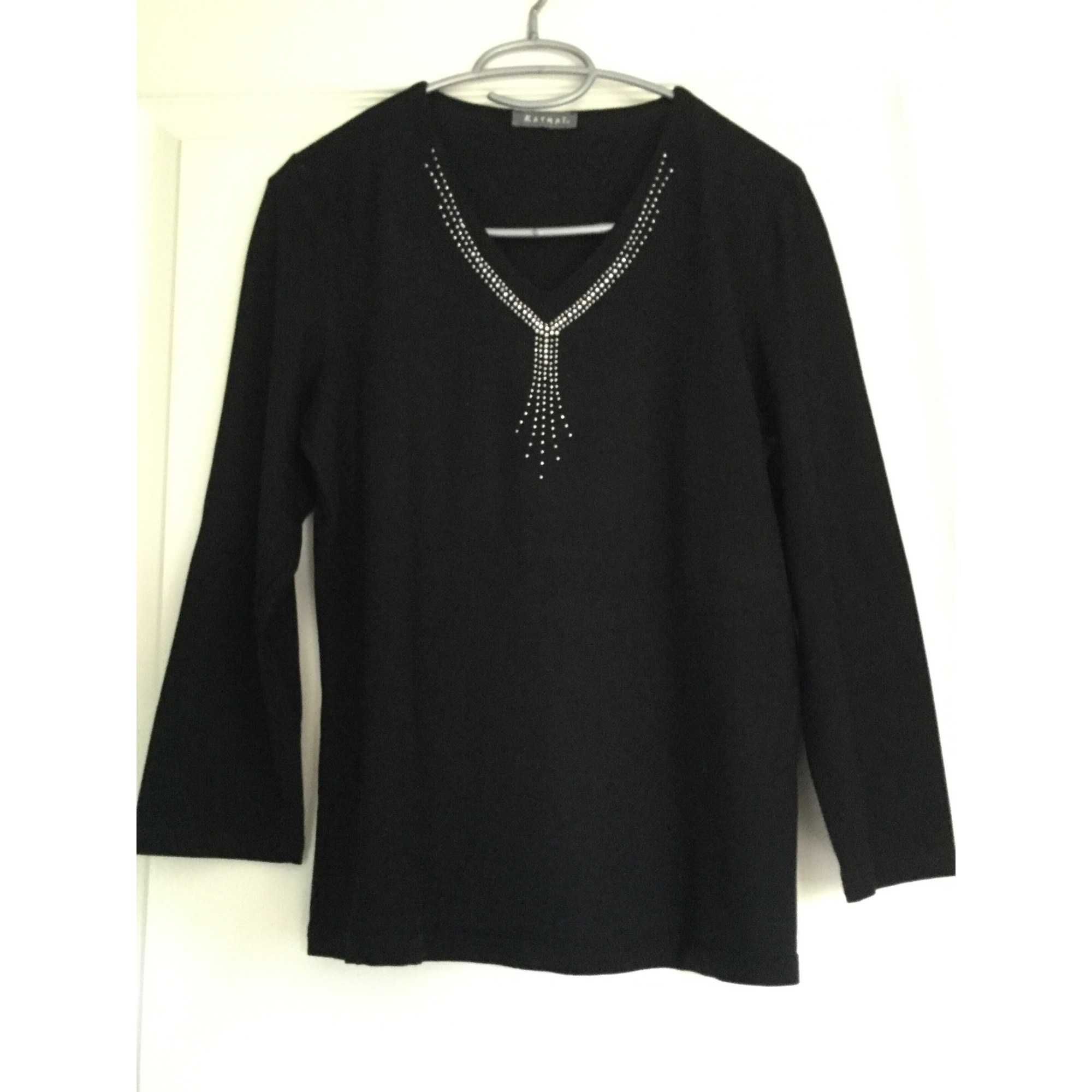 Top, tee-shirt KATMAI Noir
