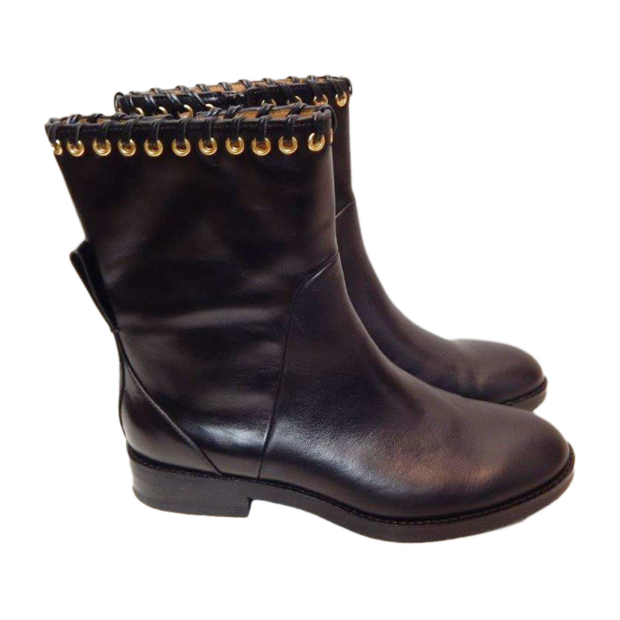 Bottes plates SEE BY CHLOE Noir