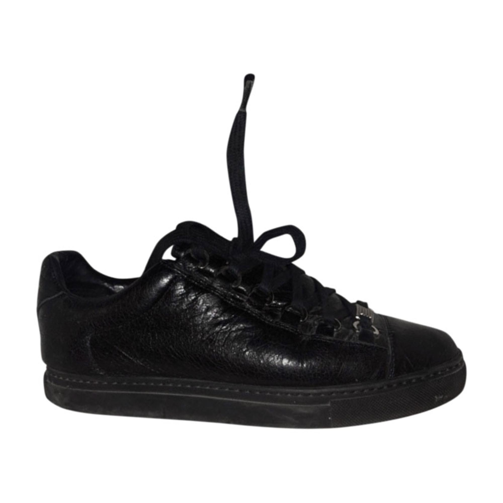 Baskets BALENCIAGA 37 noir 9827156