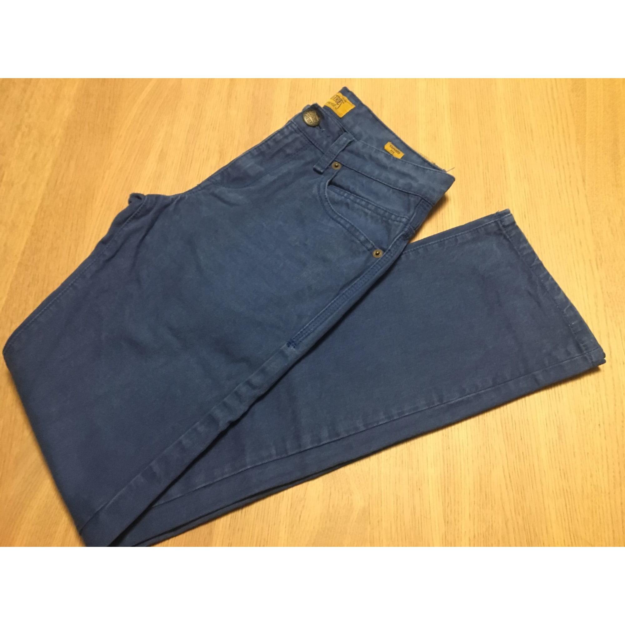 Jeans droit PETROL INDUSTRIES Bleu, bleu marine, bleu turquoise