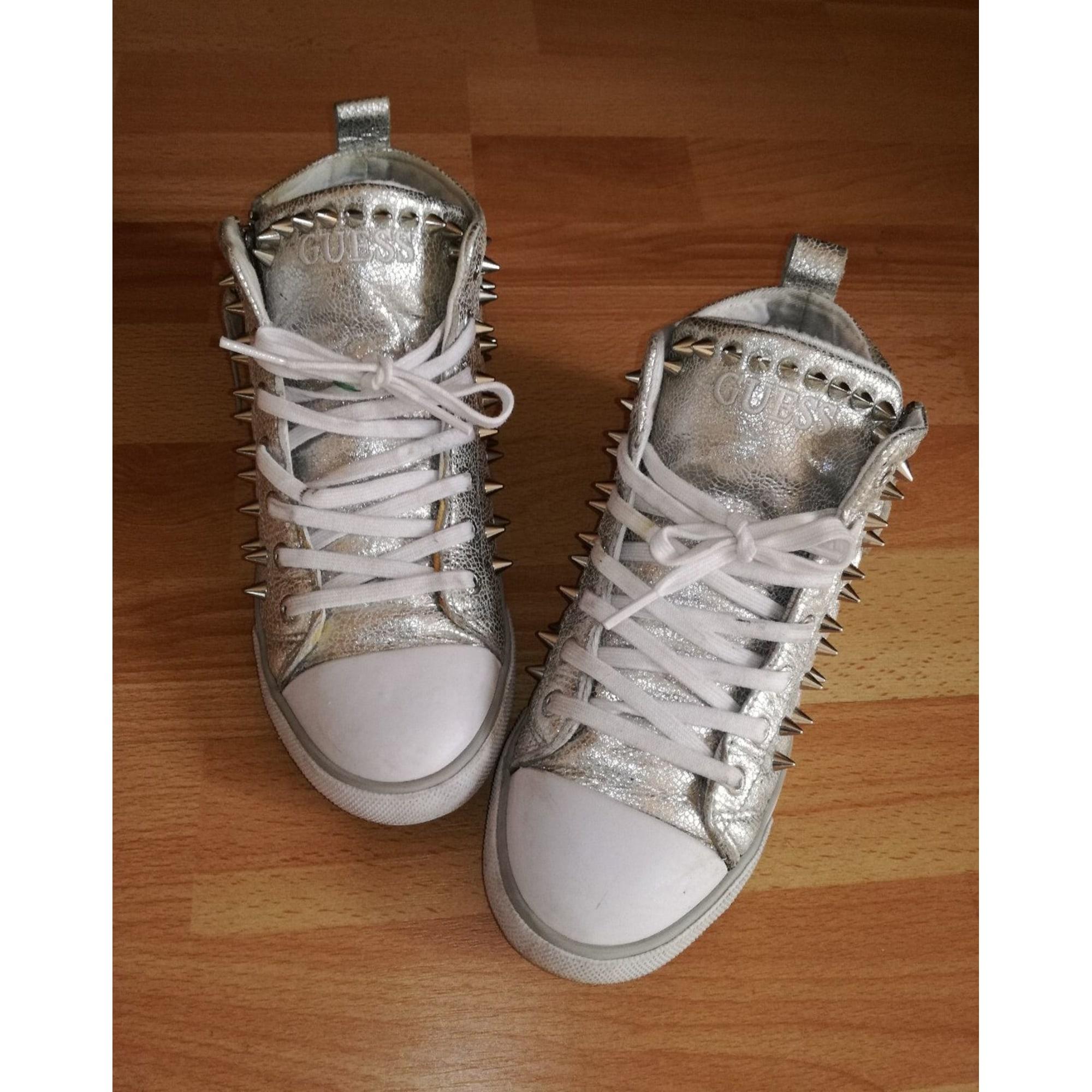Chaussures de sport GUESS Argenté, acier