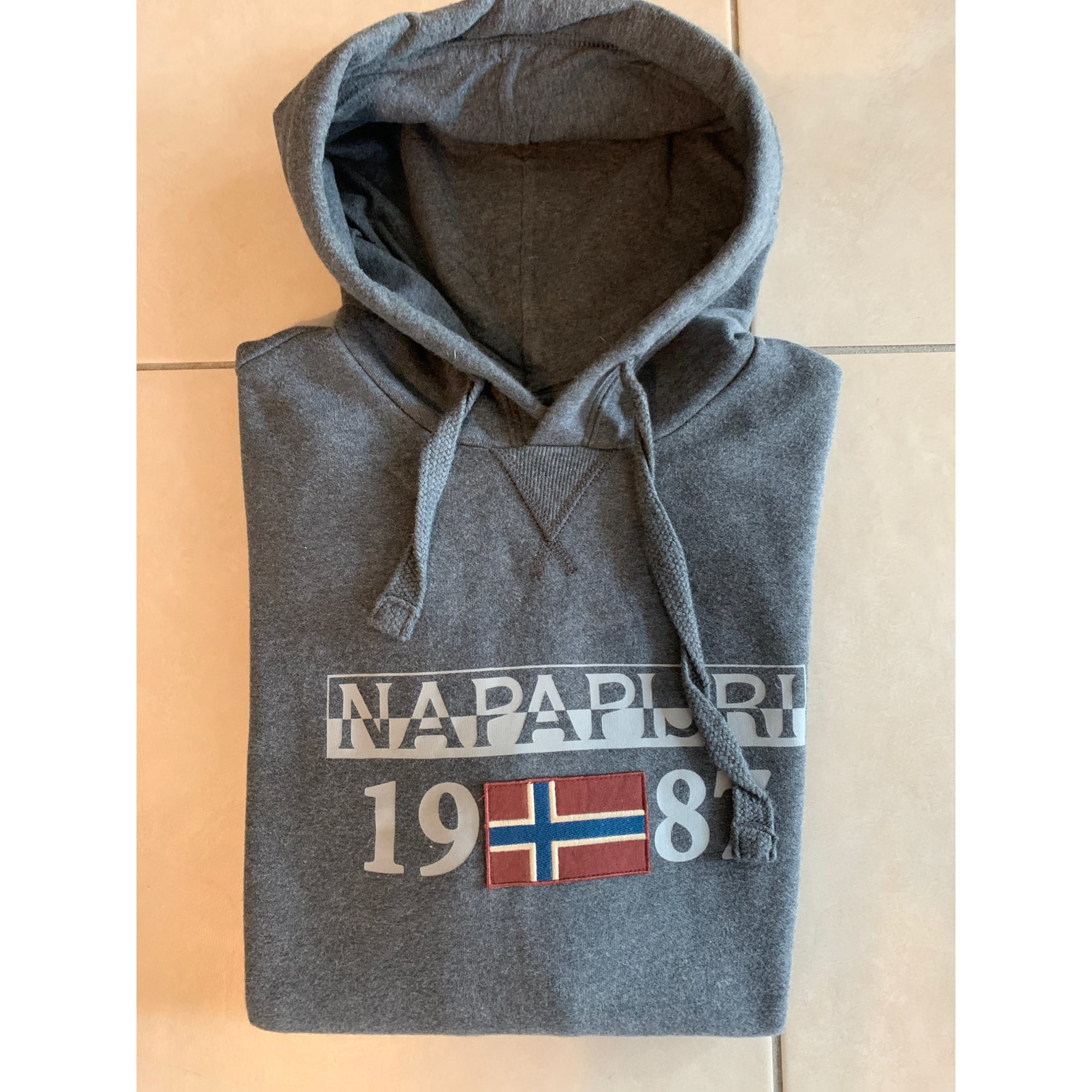 Sweat NAPAPIJRI Gris, anthracite