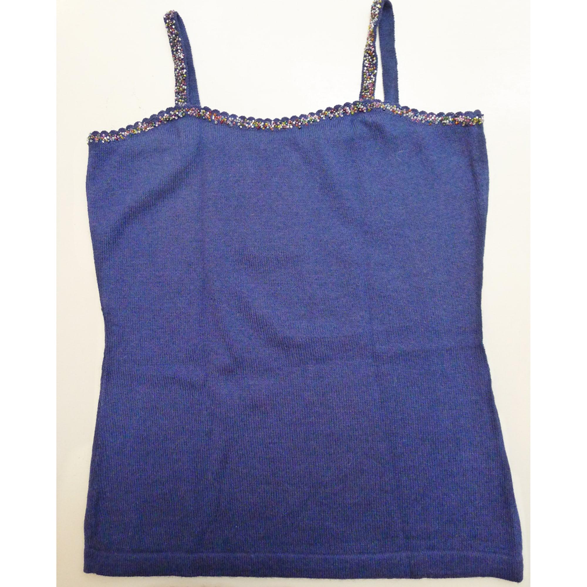 Top, tee-shirt ALPACA STUDIO Bleu, bleu marine, bleu turquoise