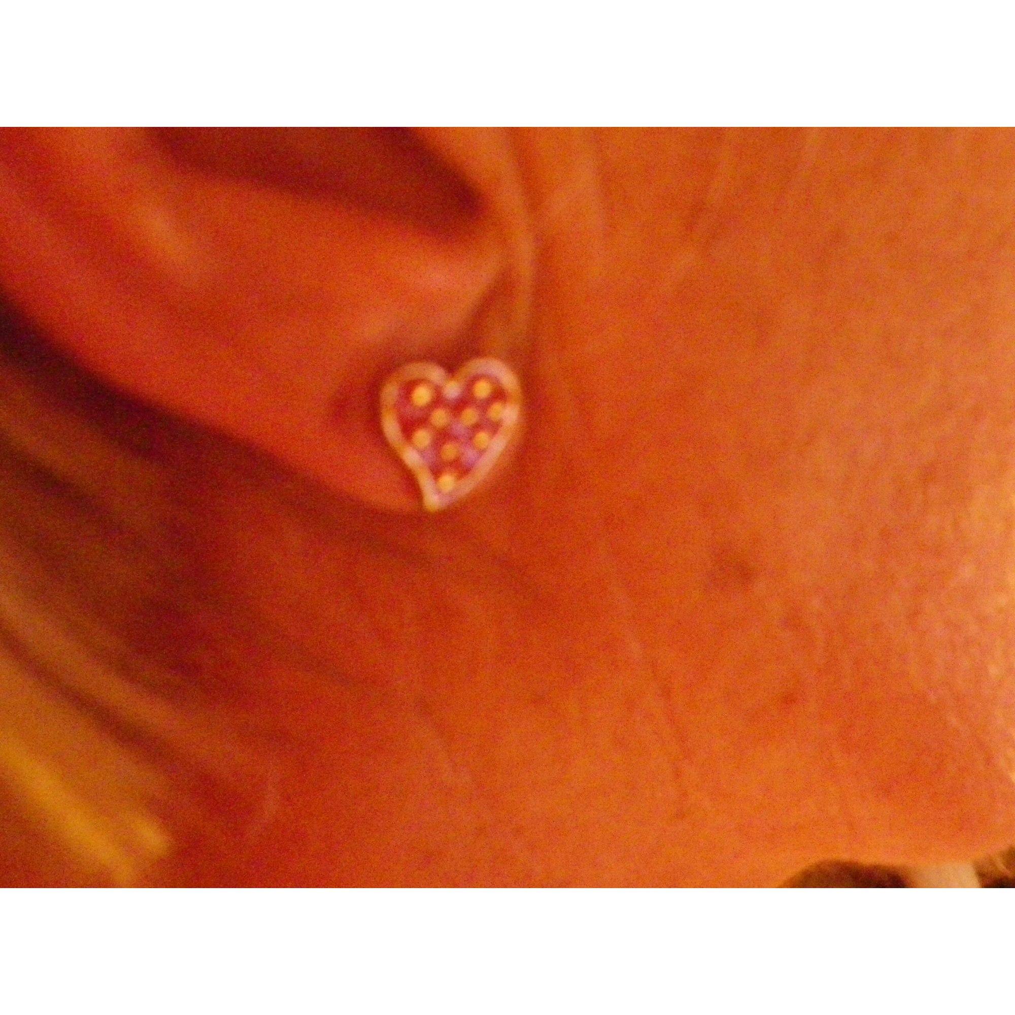 Boucles d'oreille LOLITA LEMPICKA acier rouge