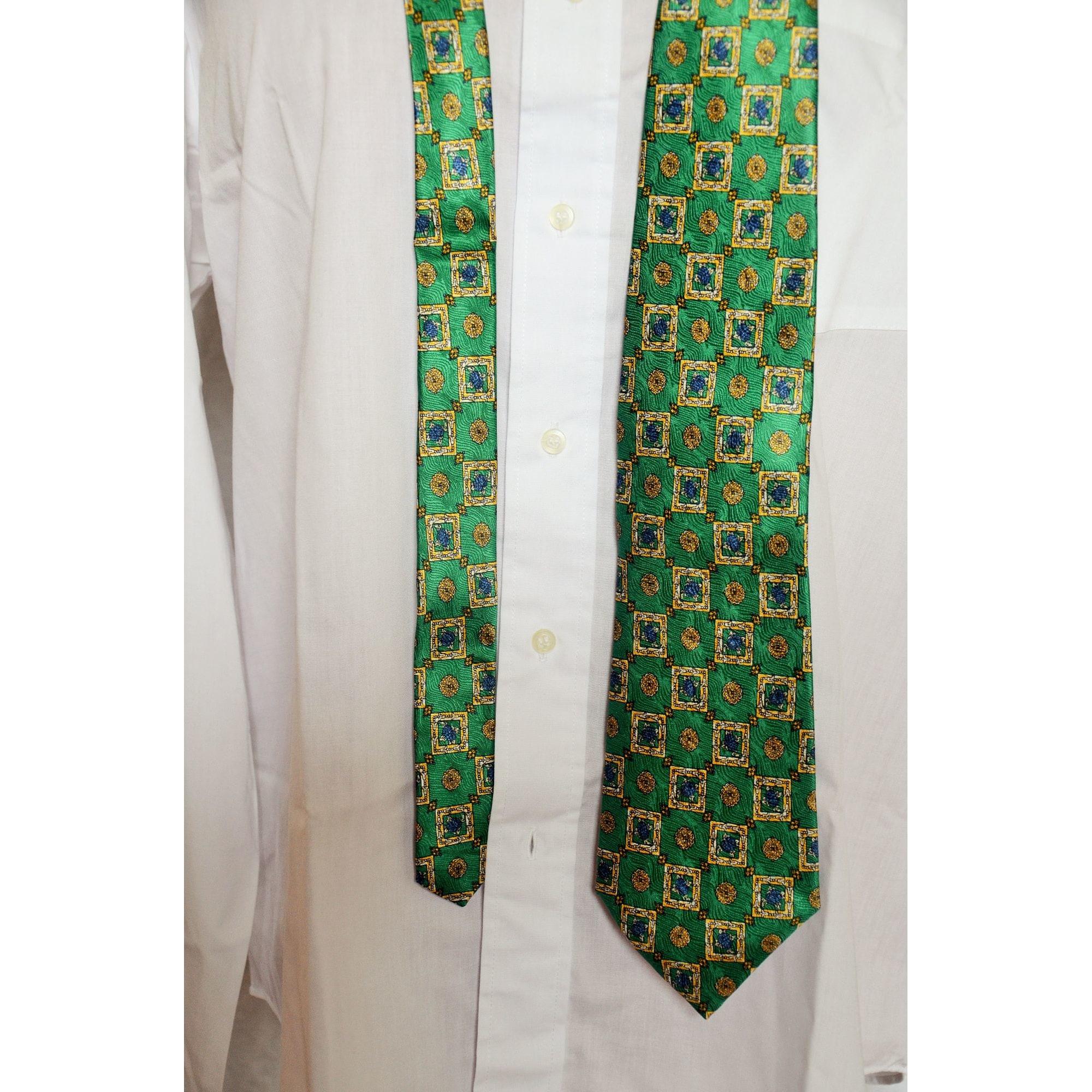 Cravate ROCHAS Vert