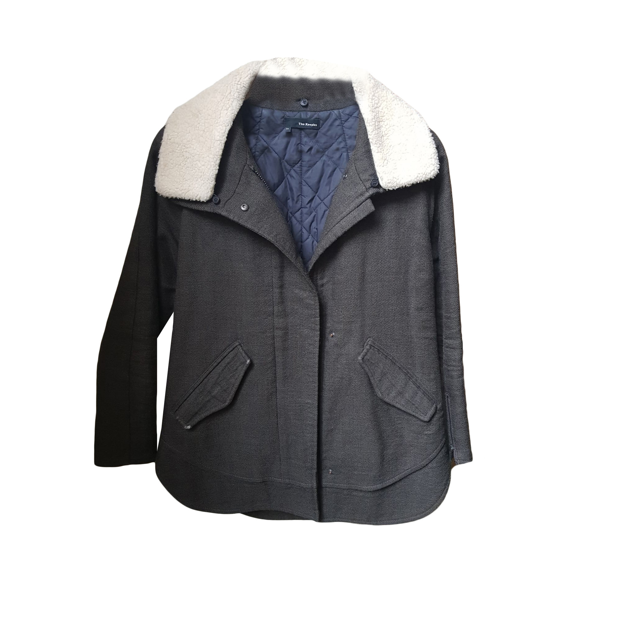 Manteau THE KOOPLES Kaki