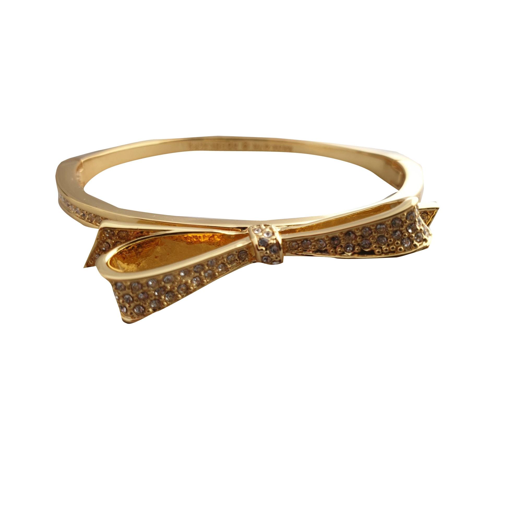 Parure bijoux KATE SPADE plaqué or doré