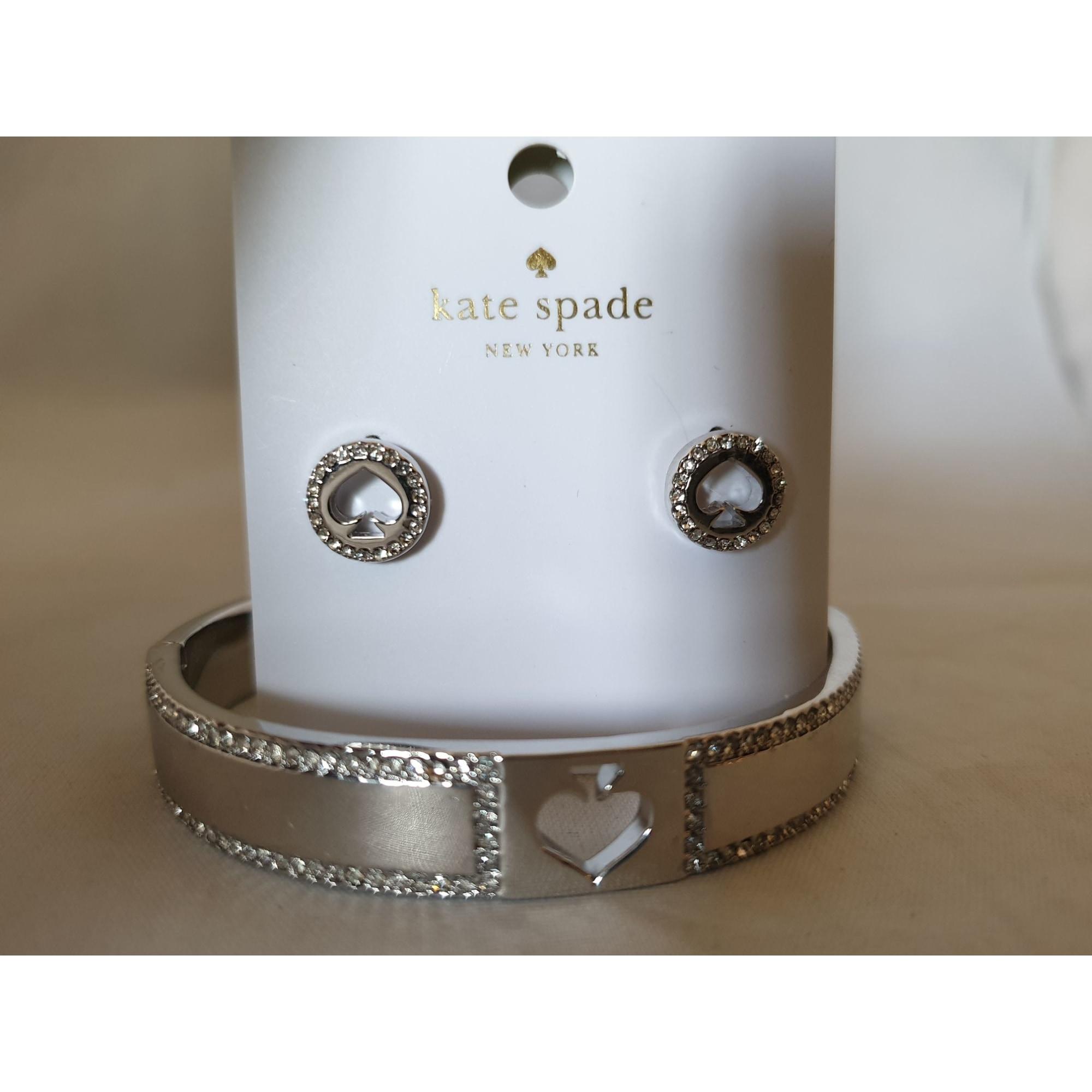 Parure bijoux KATE SPADE plaqué or argent