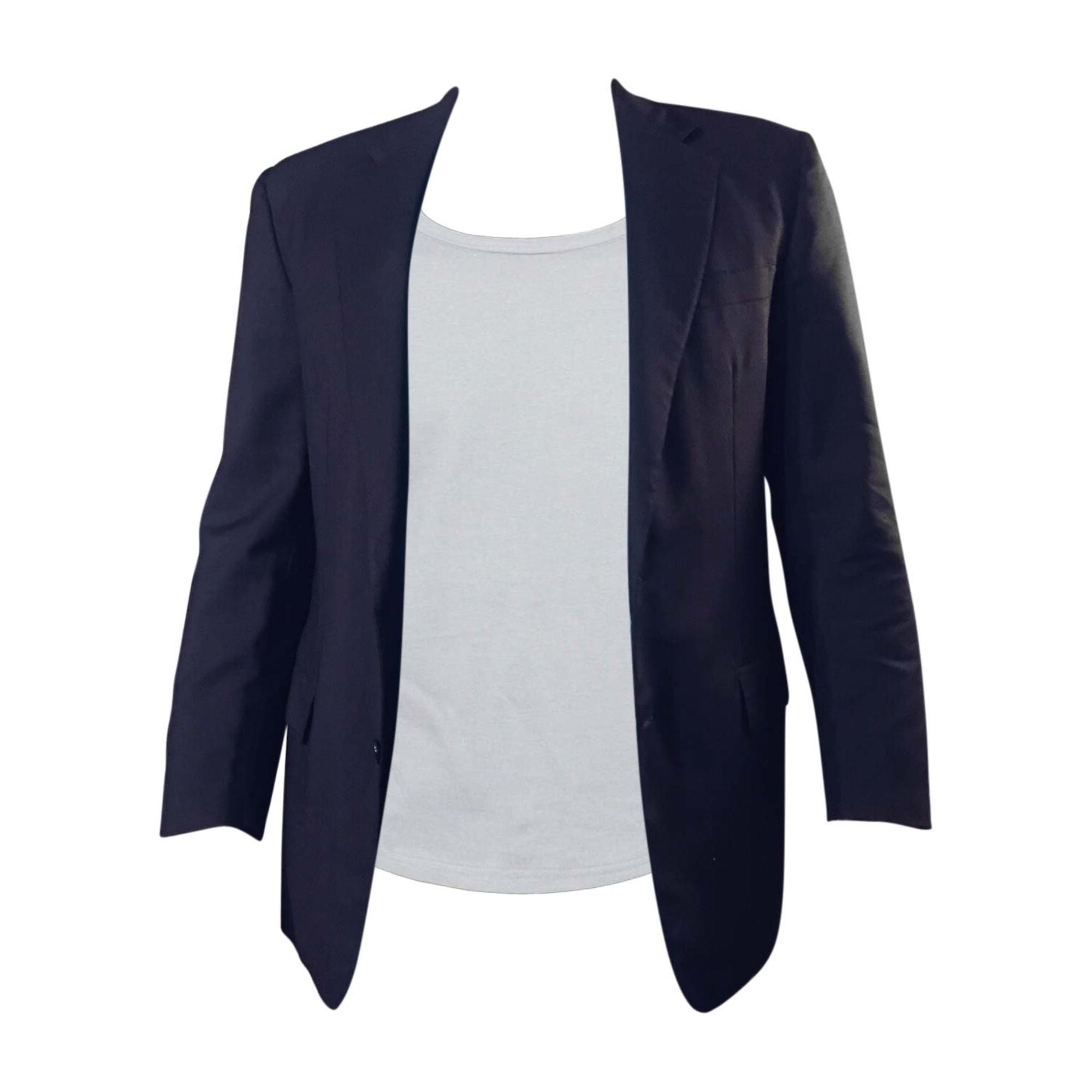 Veste SALVATORE FERRAGAMO Bleu, bleu marine, bleu turquoise