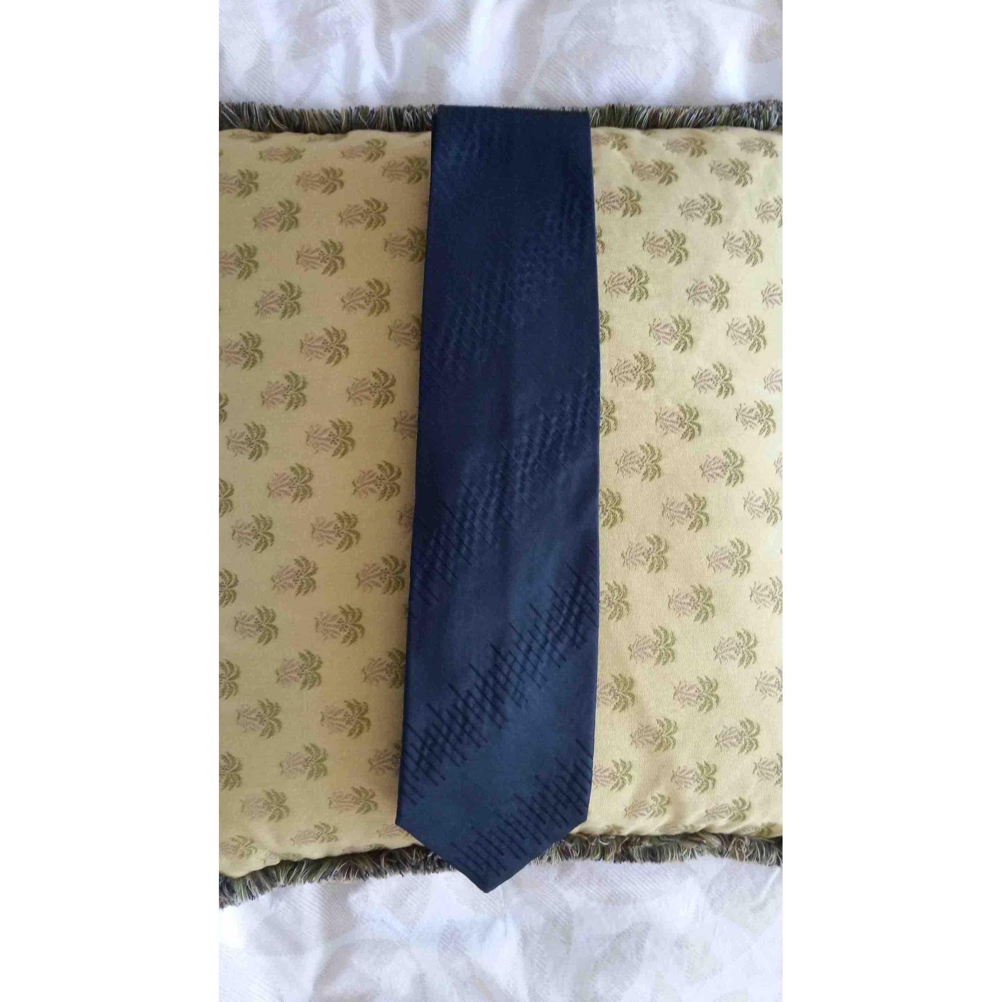 Cravate EMPORIO ARMANI Bleu, bleu marine, bleu turquoise