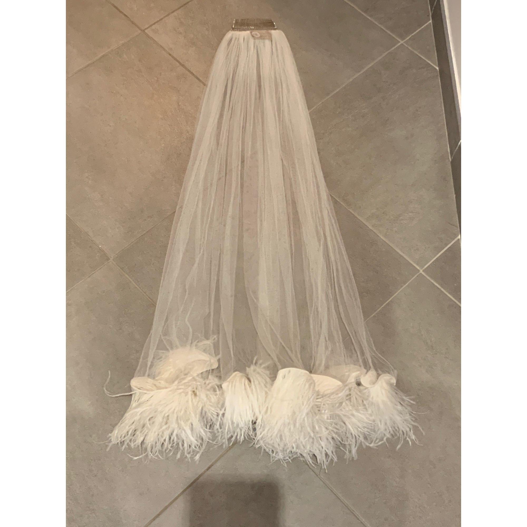 Accessoire de mariage LANVIN Blanc, blanc cassé, écru