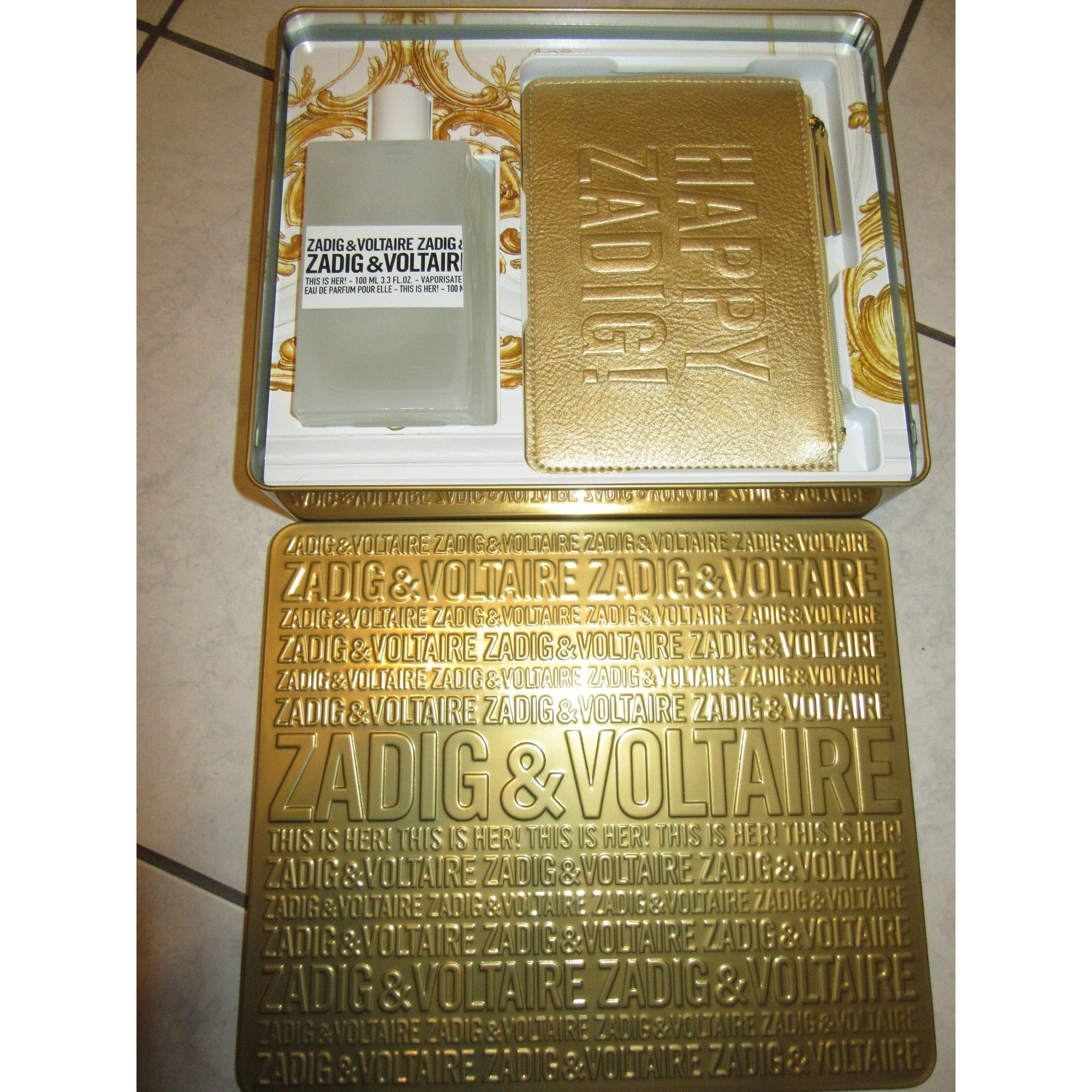 Coffret parfum ZADIG & VOLTAIRE