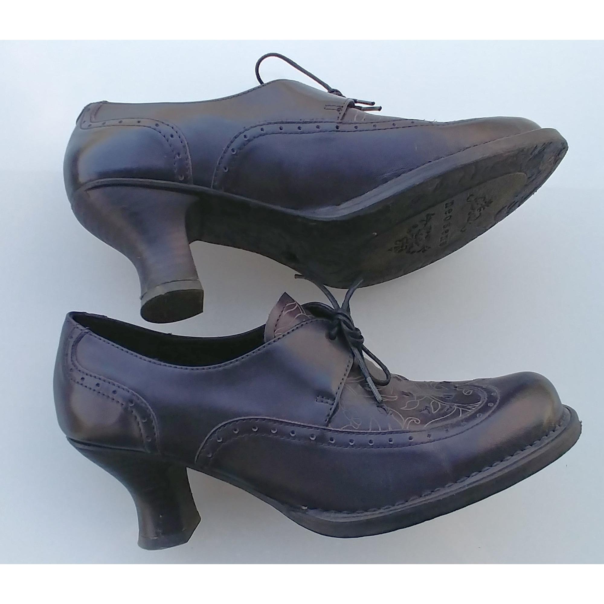 Chaussures à lacets  NEOSENS Noir