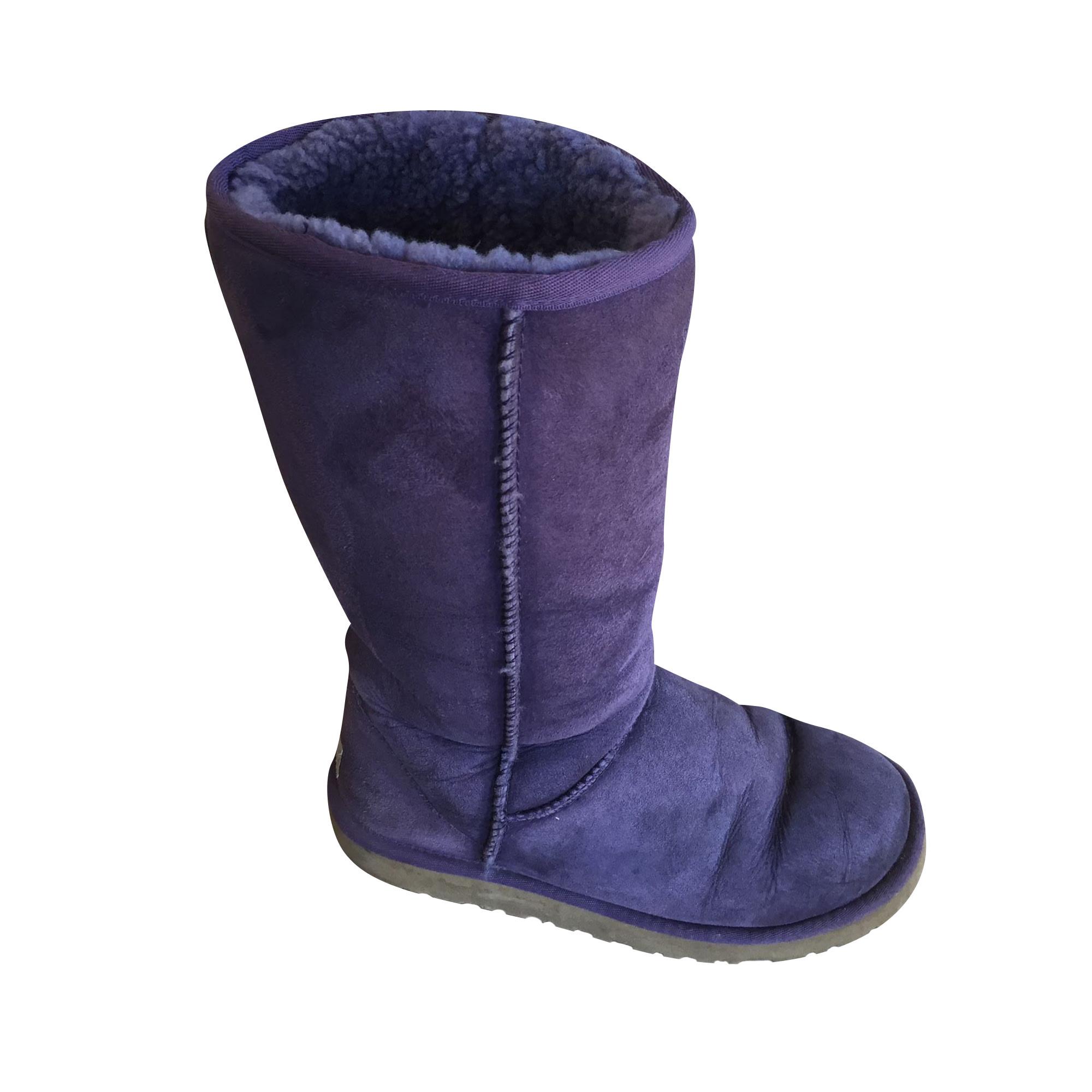 Bottes de neige UGG Violet, mauve, lavande