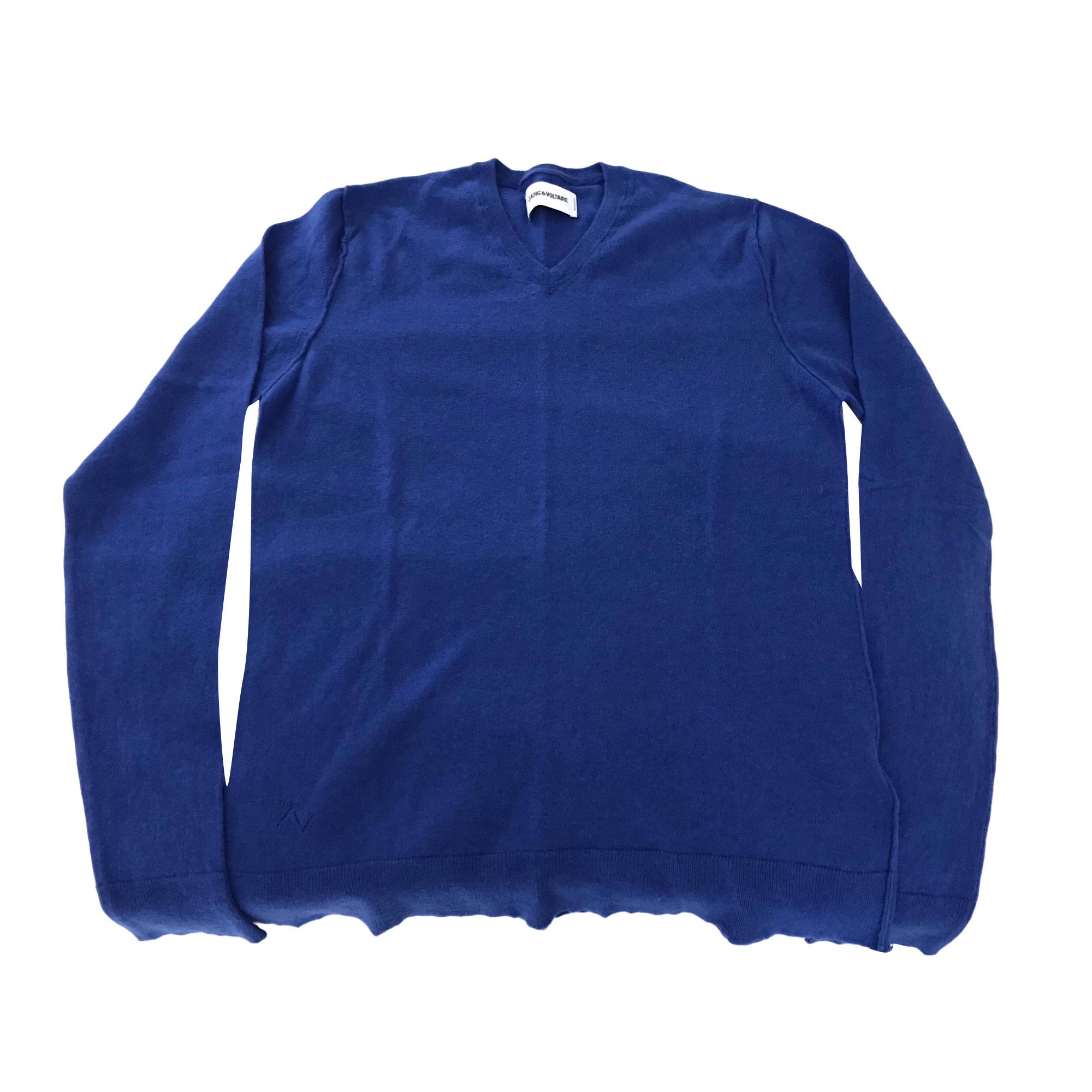 veste bleu electrique zadig et voltaire